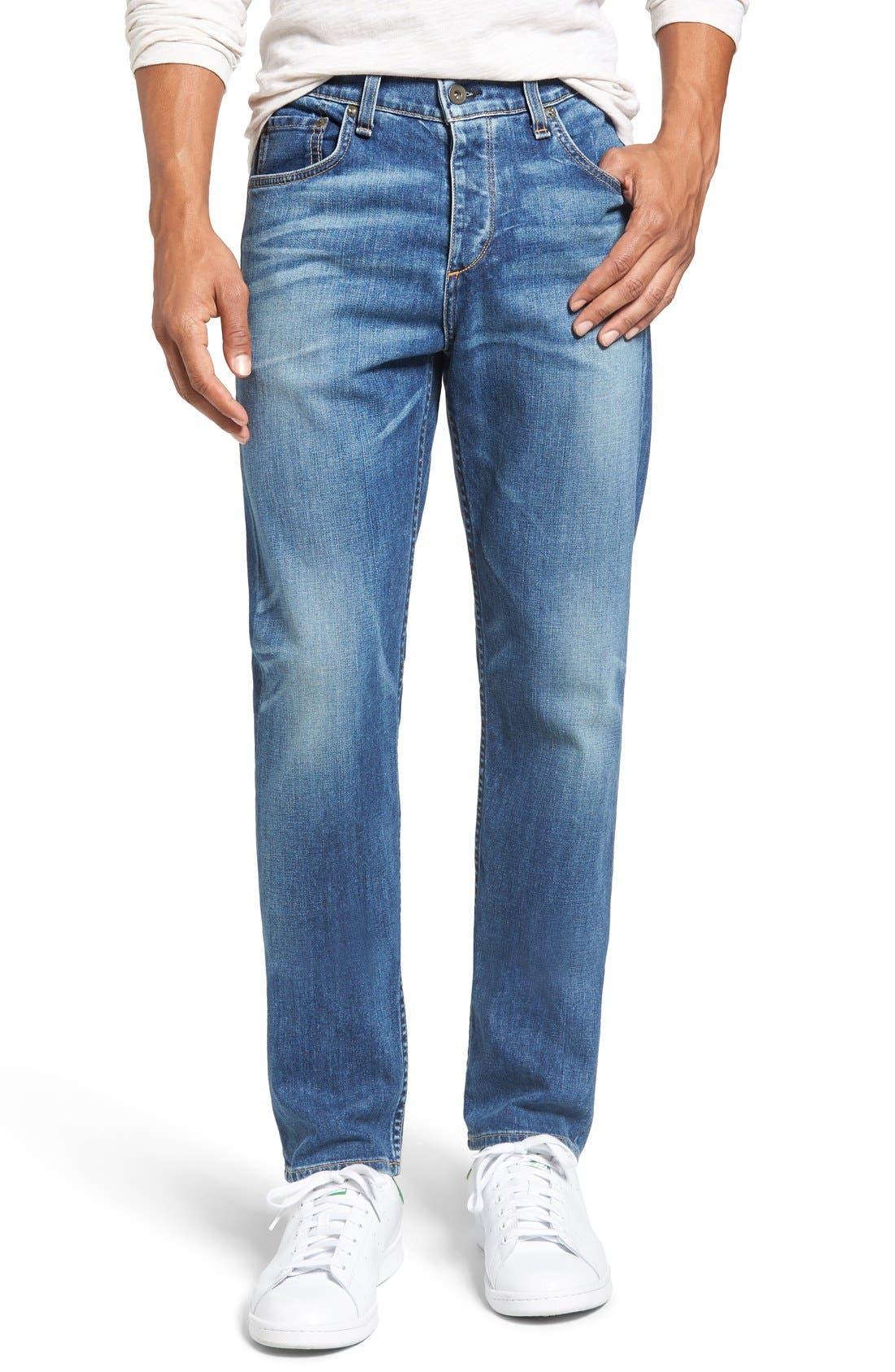 Standard Issue Fit 3 Slim Straight Leg Jeans,                         Main,                         color, Bainbridge