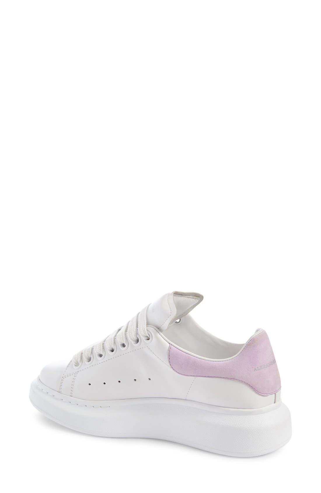 Alternate Image 2  - Alexander McQueen Sneaker (Women)