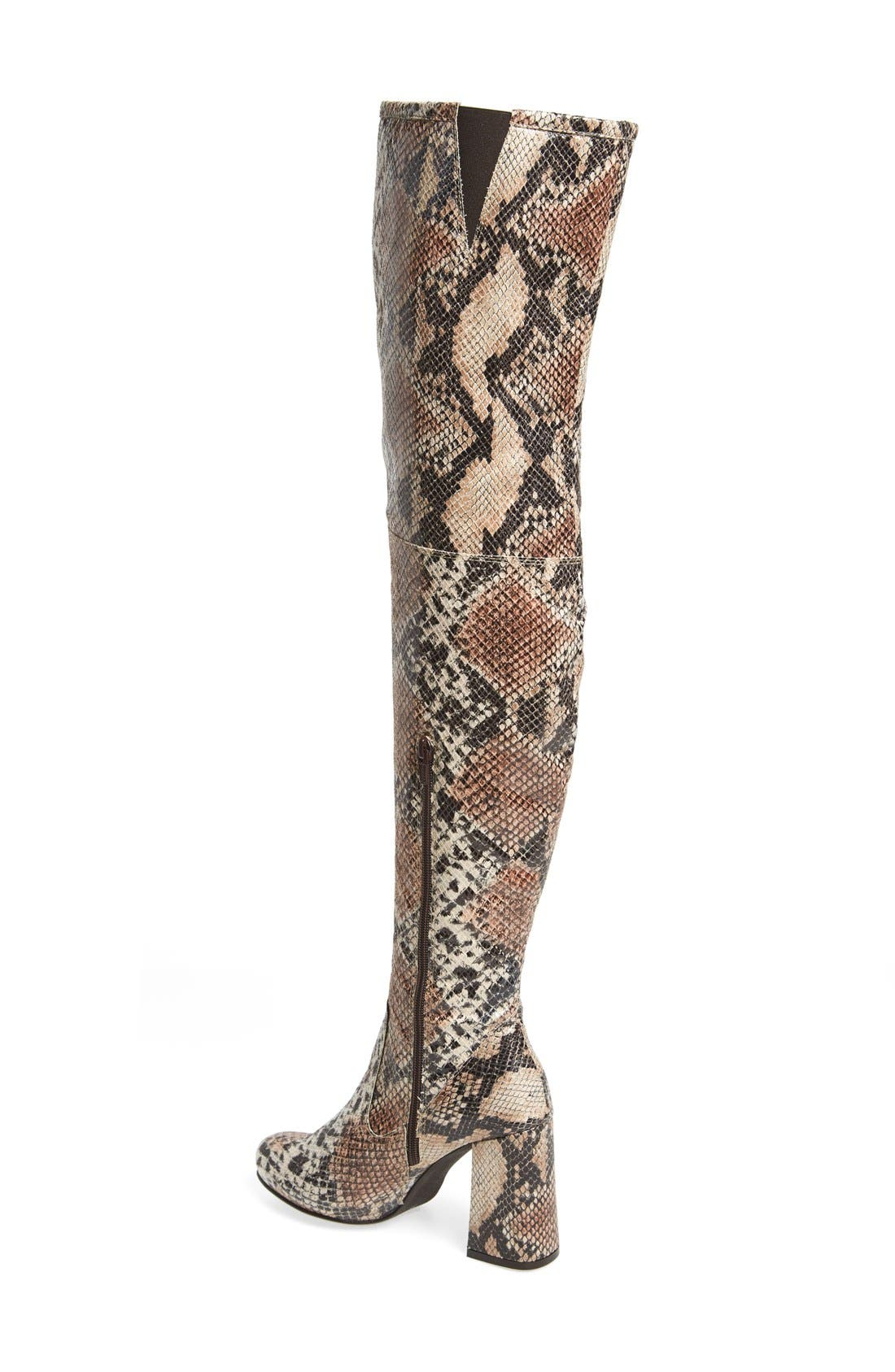 Alternate Image 2  - Shellys London 'Kay' Over the Knee Boot (Women)