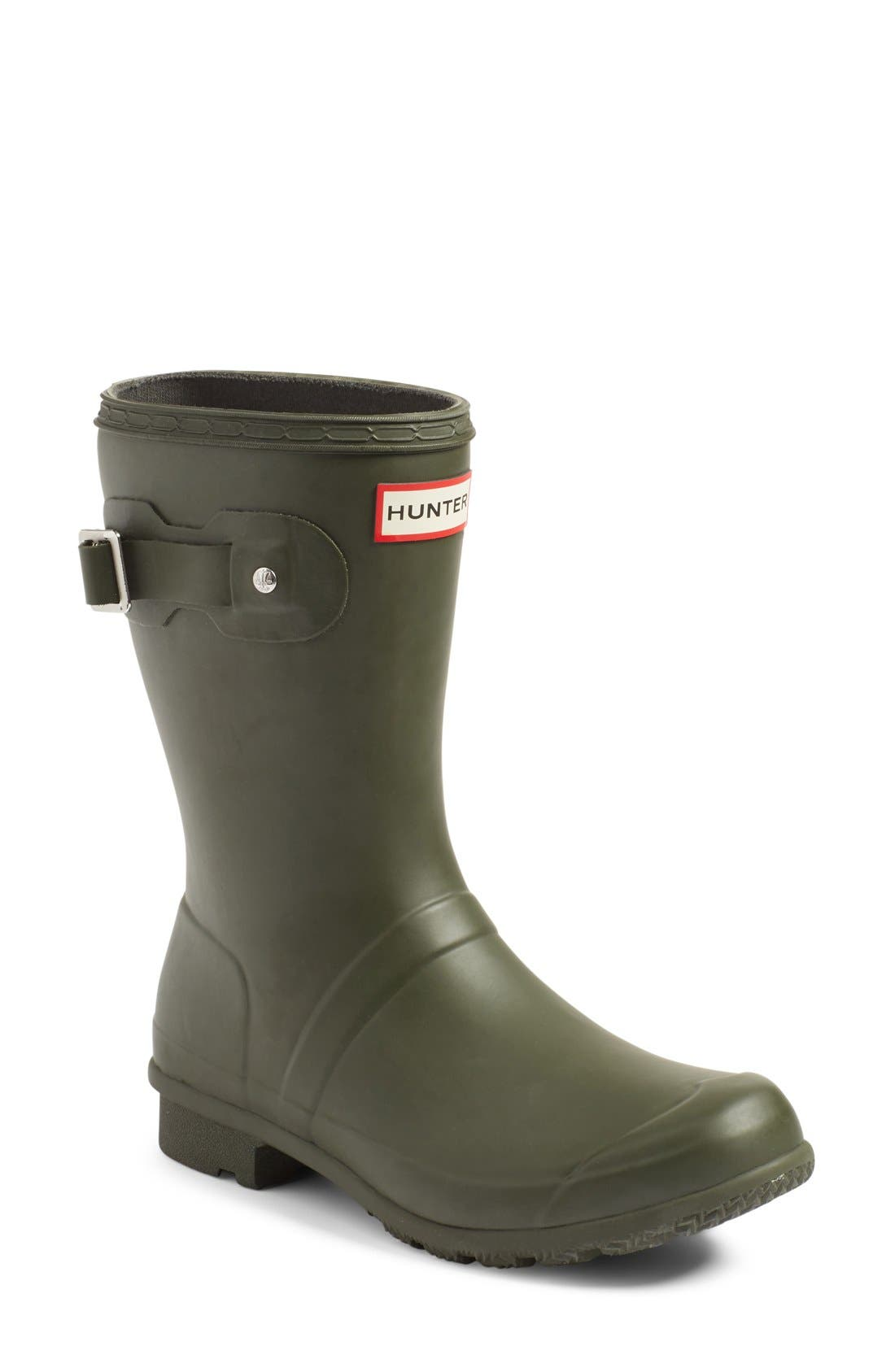 Main Image - Hunter Original Tour Short Packable Rain Boot (Women)