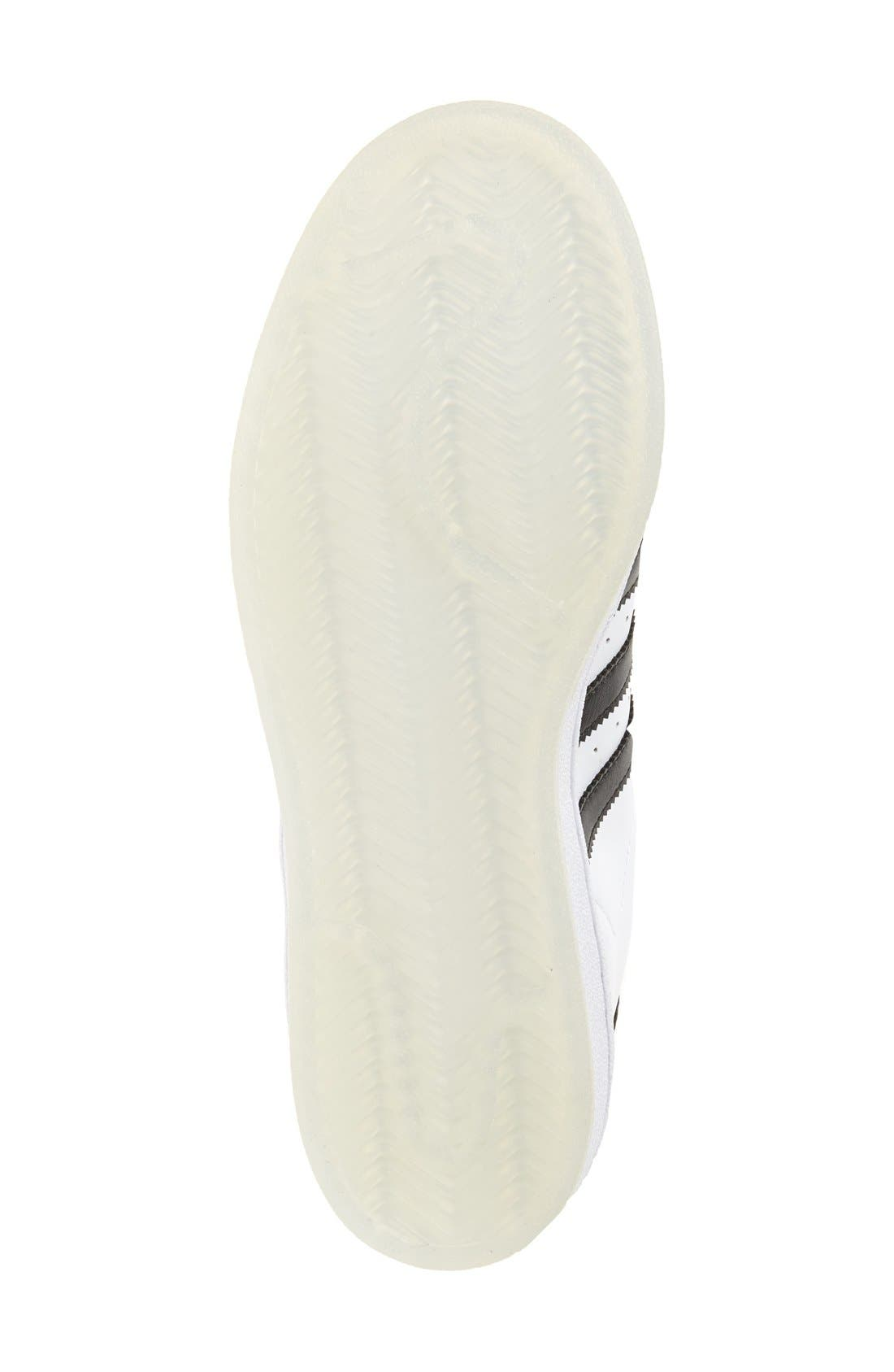 Alternate Image 4  - adidas Superstar Ice Sneaker (Big Kid)