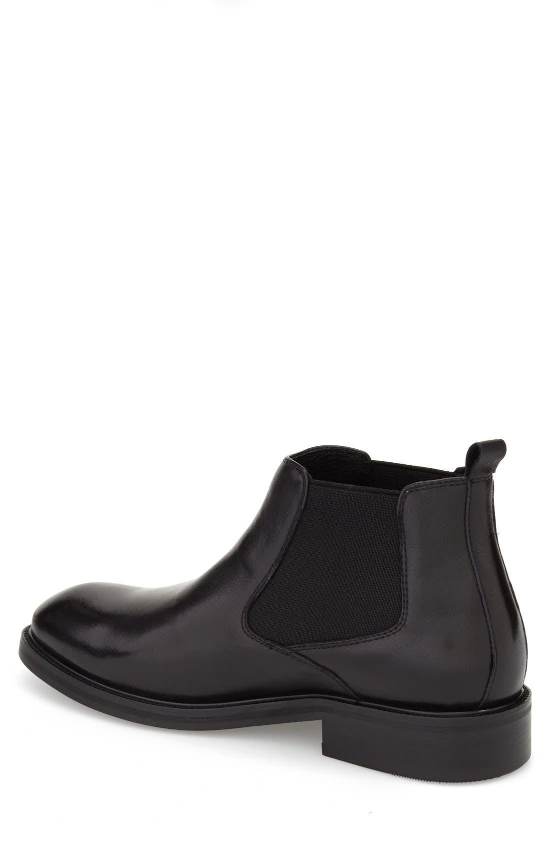 'Napoli' Double Monk Strap Shoe,                             Alternate thumbnail 2, color,                             Black