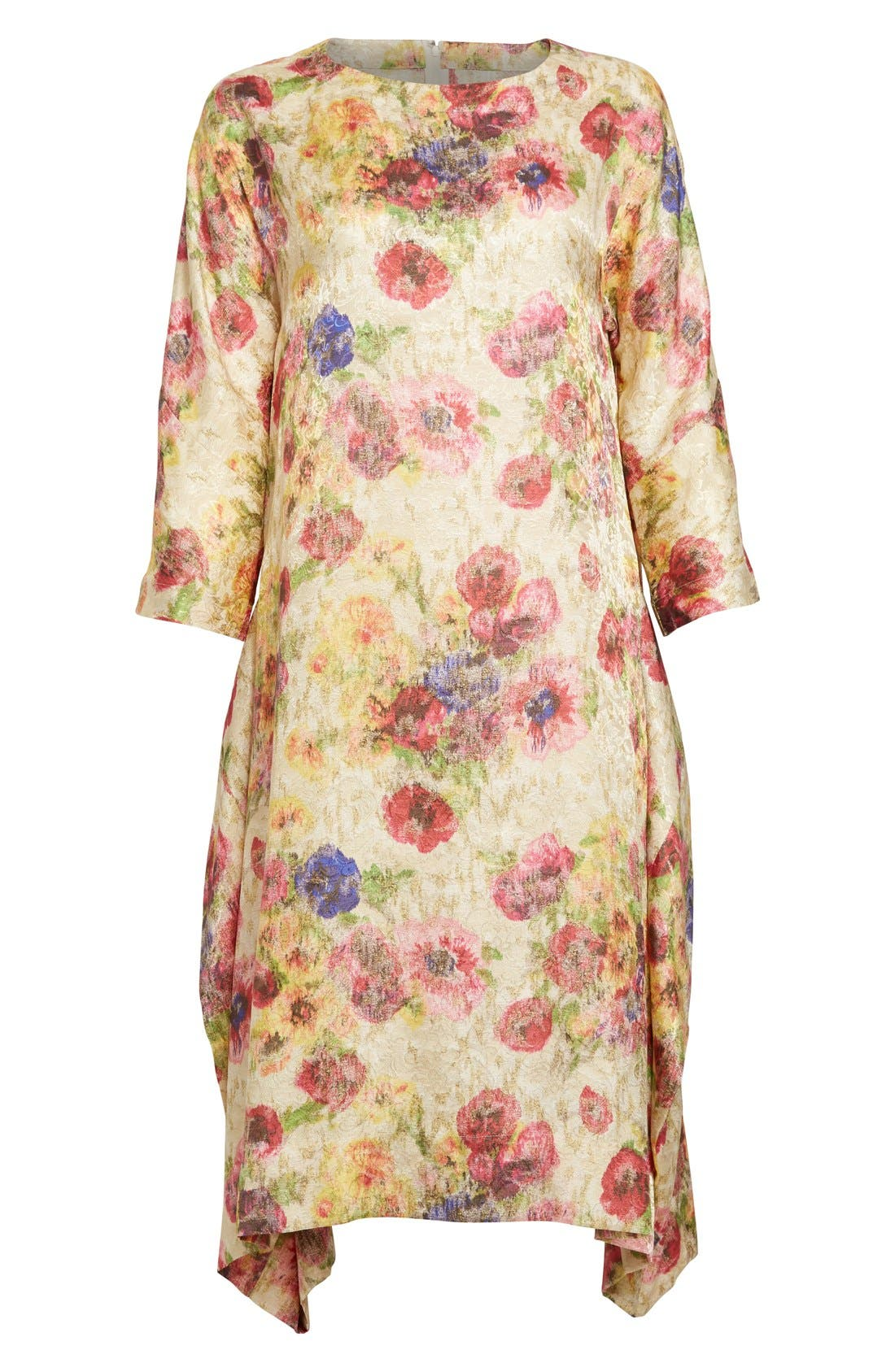 Alternate Image 4  - Comme des Garçons Floral Jacquard Shift Dress