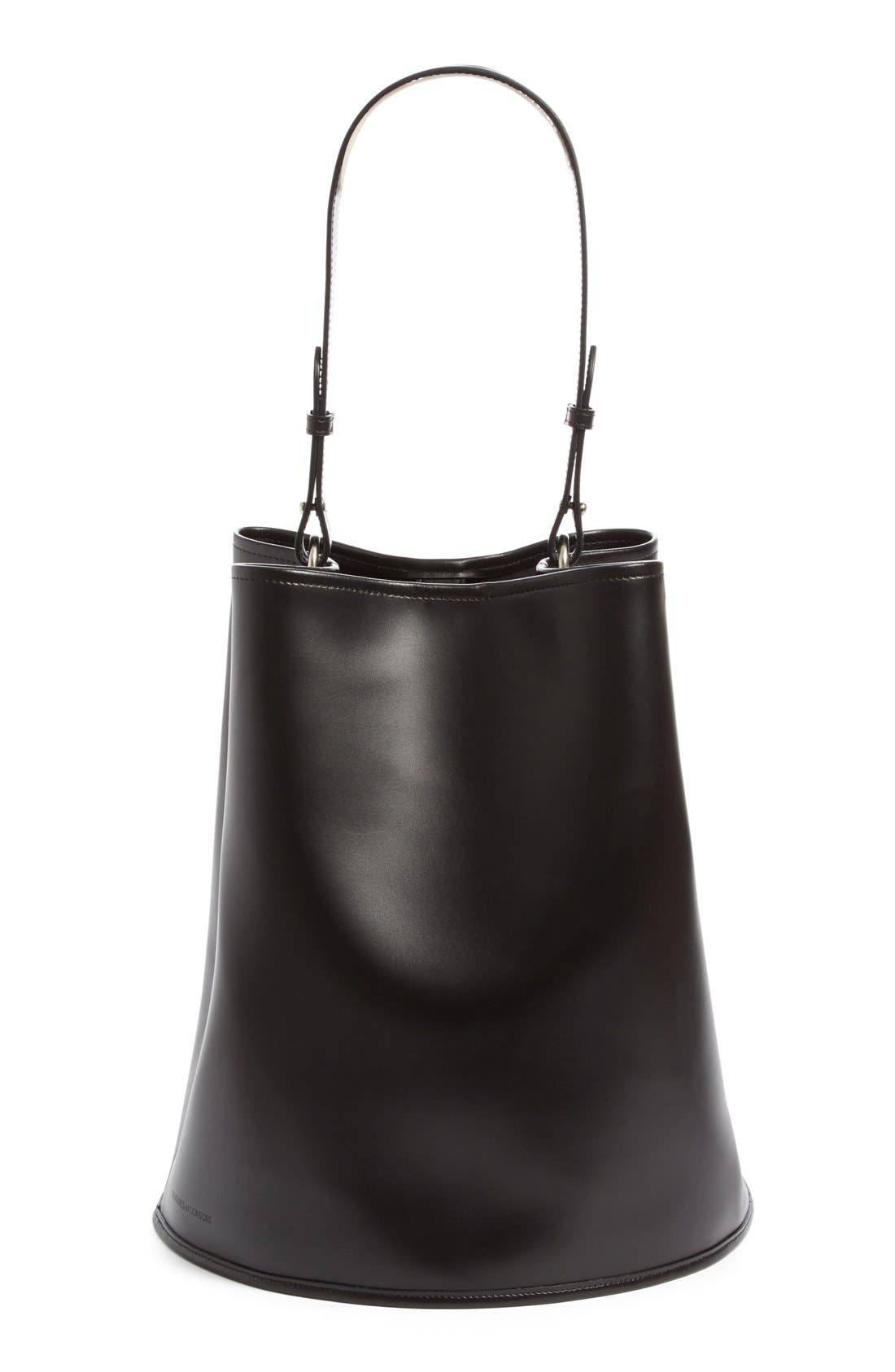 Alternate Image 1 Selected - Creatures of Comfort Large Calfskin Leather Bucket Bag