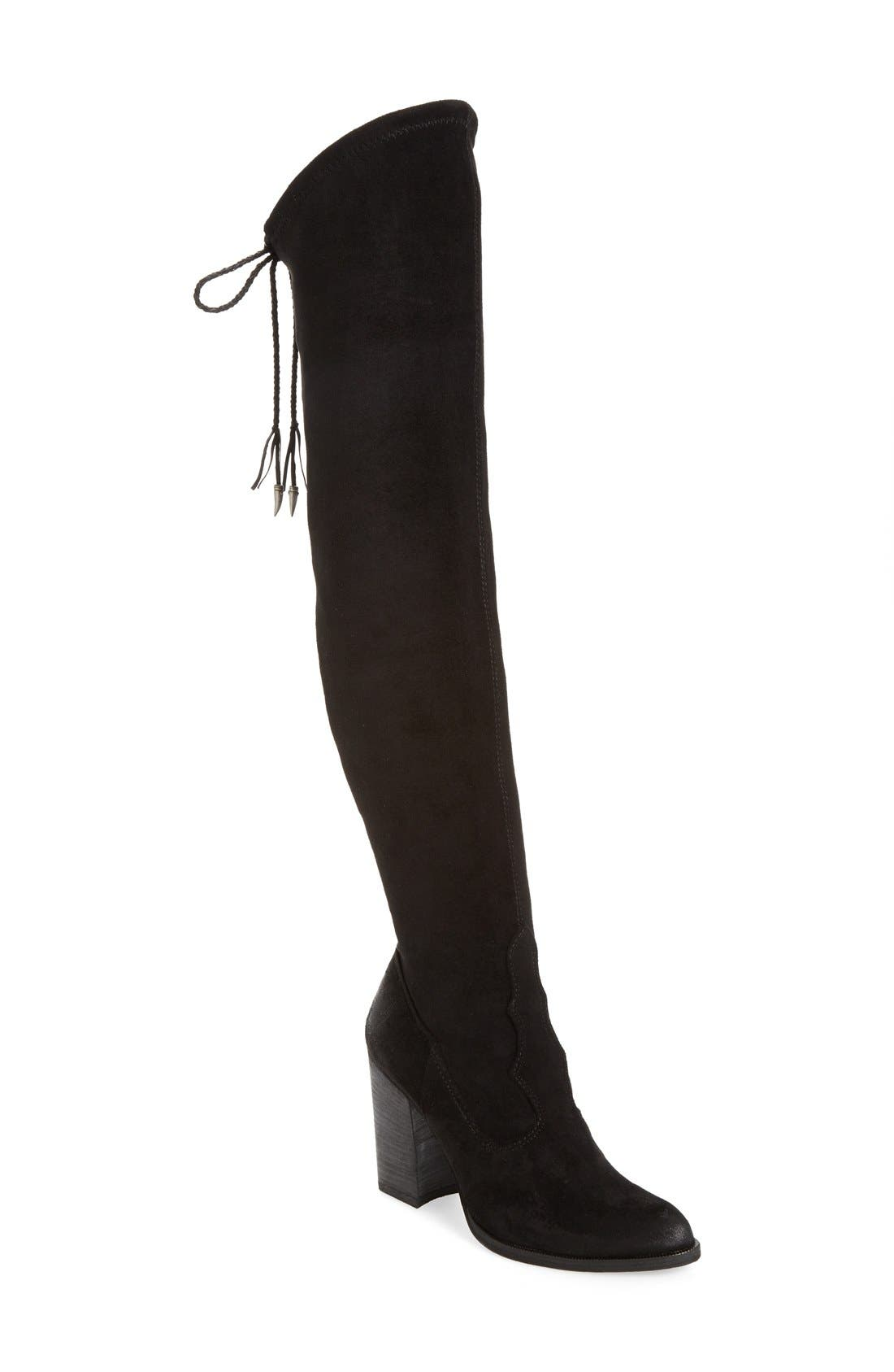 Dolce Vita Women's 'Chance' Over The Knee Stretch Boot yT9MH7SZr
