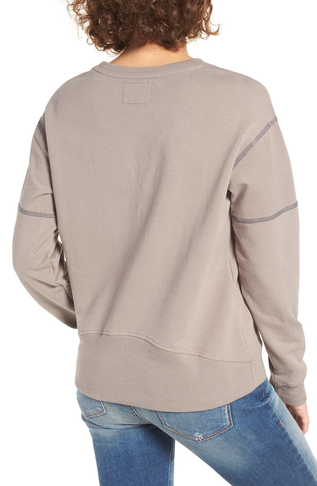 Alternate Image 2  - '47 'Seattle Seahawks' Graphic Sweatshirt