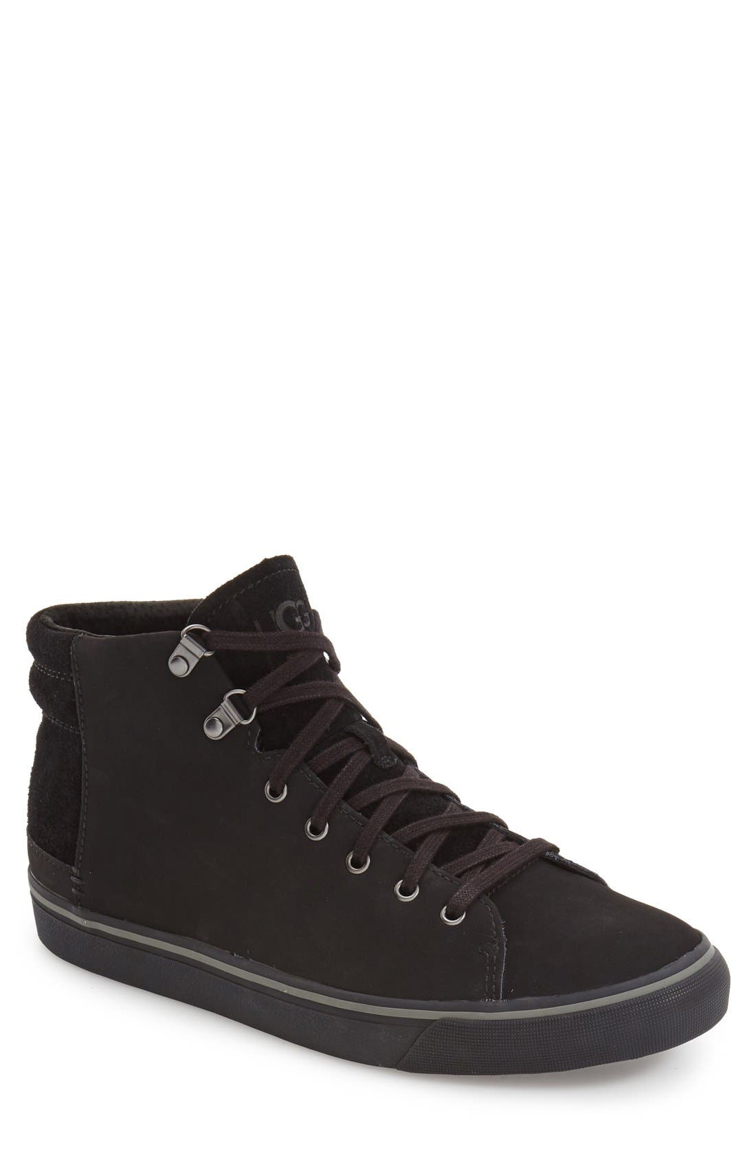 Alternate Image 1 Selected - UGG® 'Hoyt' Waterproof High Top Sneaker (Men)