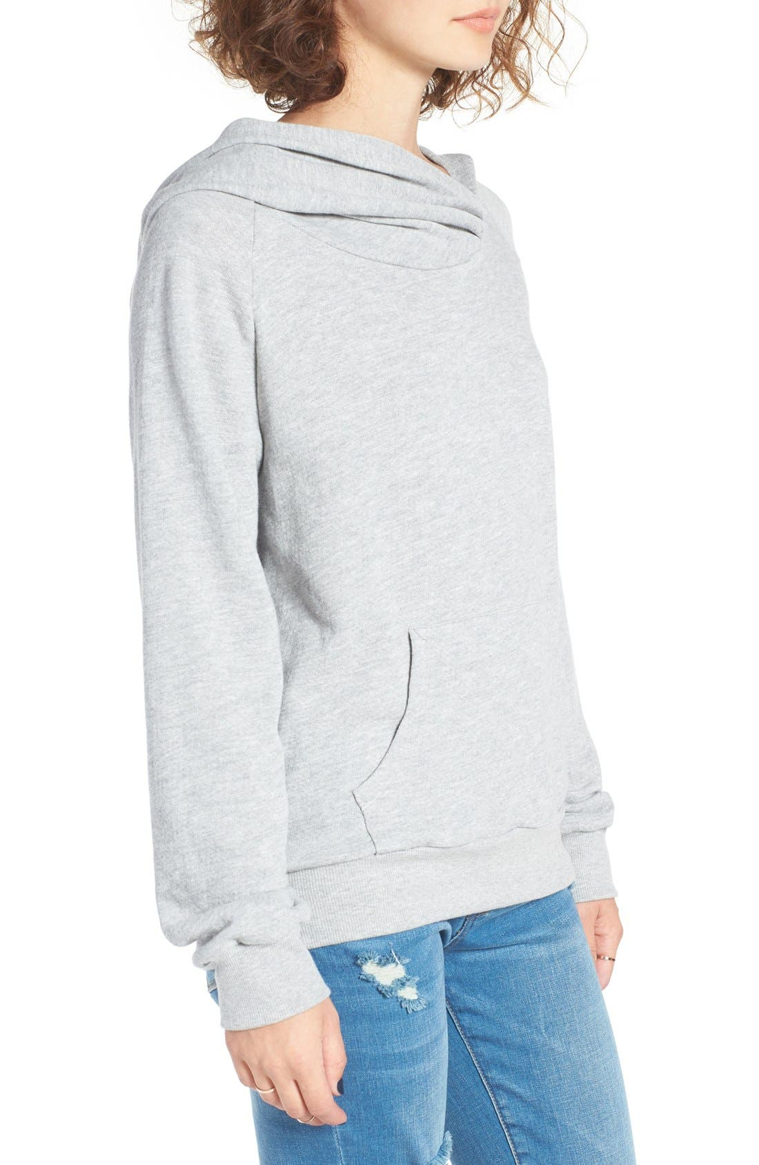 Alternate Image 3  - BP. Wrap Neck Hoodie
