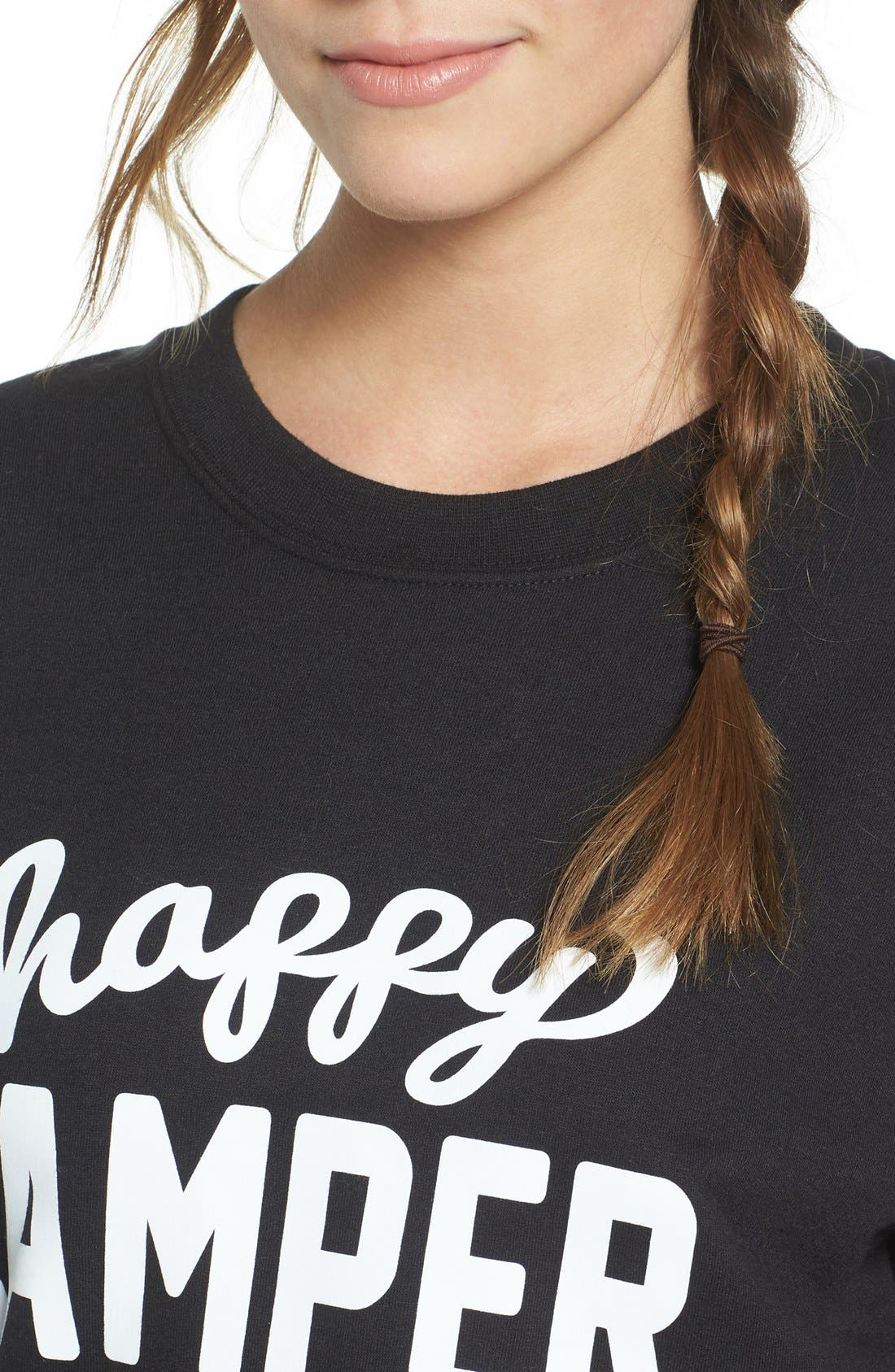Alternate Image 4  - Sub_Urban Riot 'Happy Camper' Graphic Sweatshirt