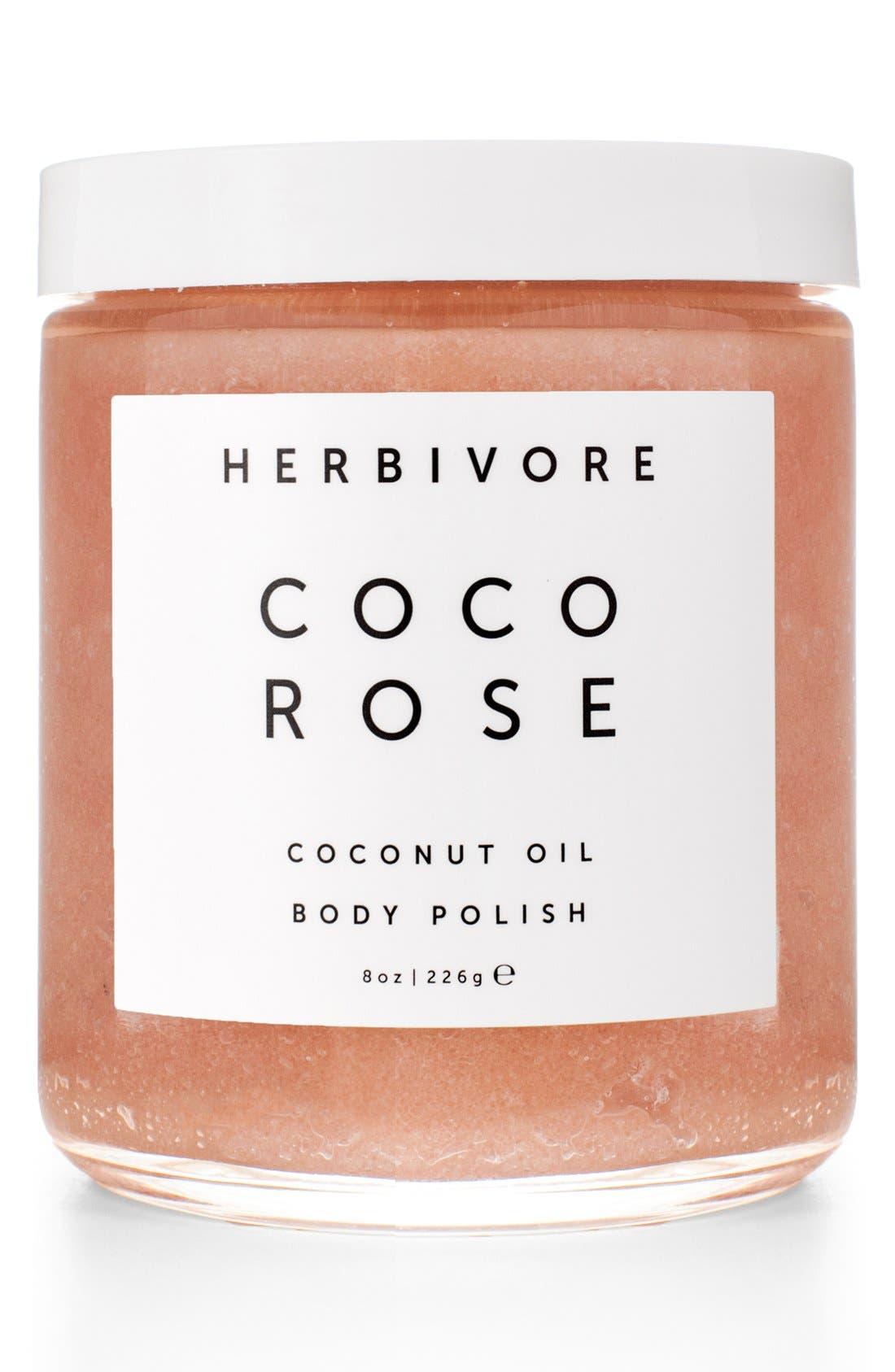 Herbivore Botanicals Coco Rose Coconut Oil Body Polish (8 oz.)