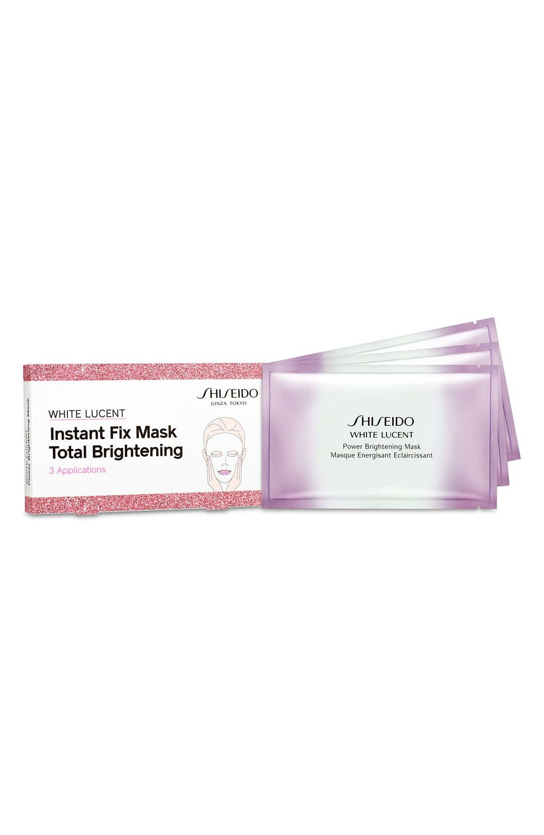 Shiseido 'White Lucent' Instant Fix Mask Total Brightening