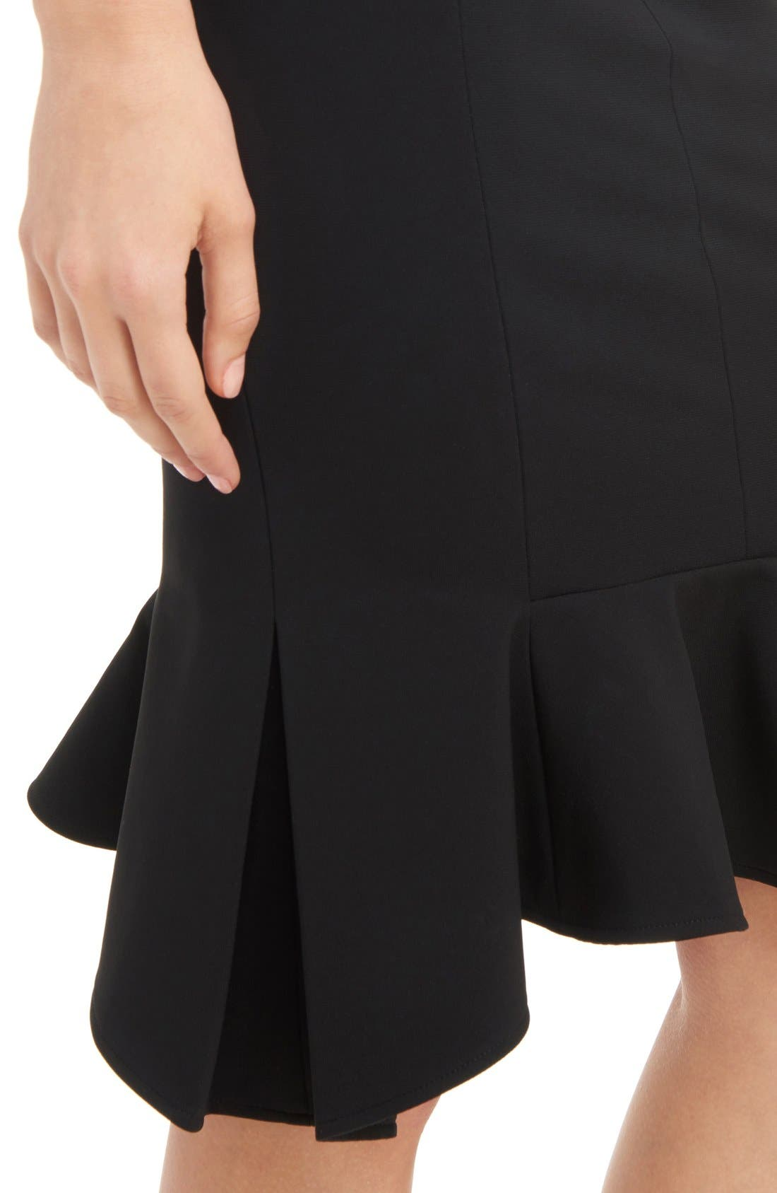 Alternate Image 6  - Givenchy Side Zip Crepe Jersey Skirt