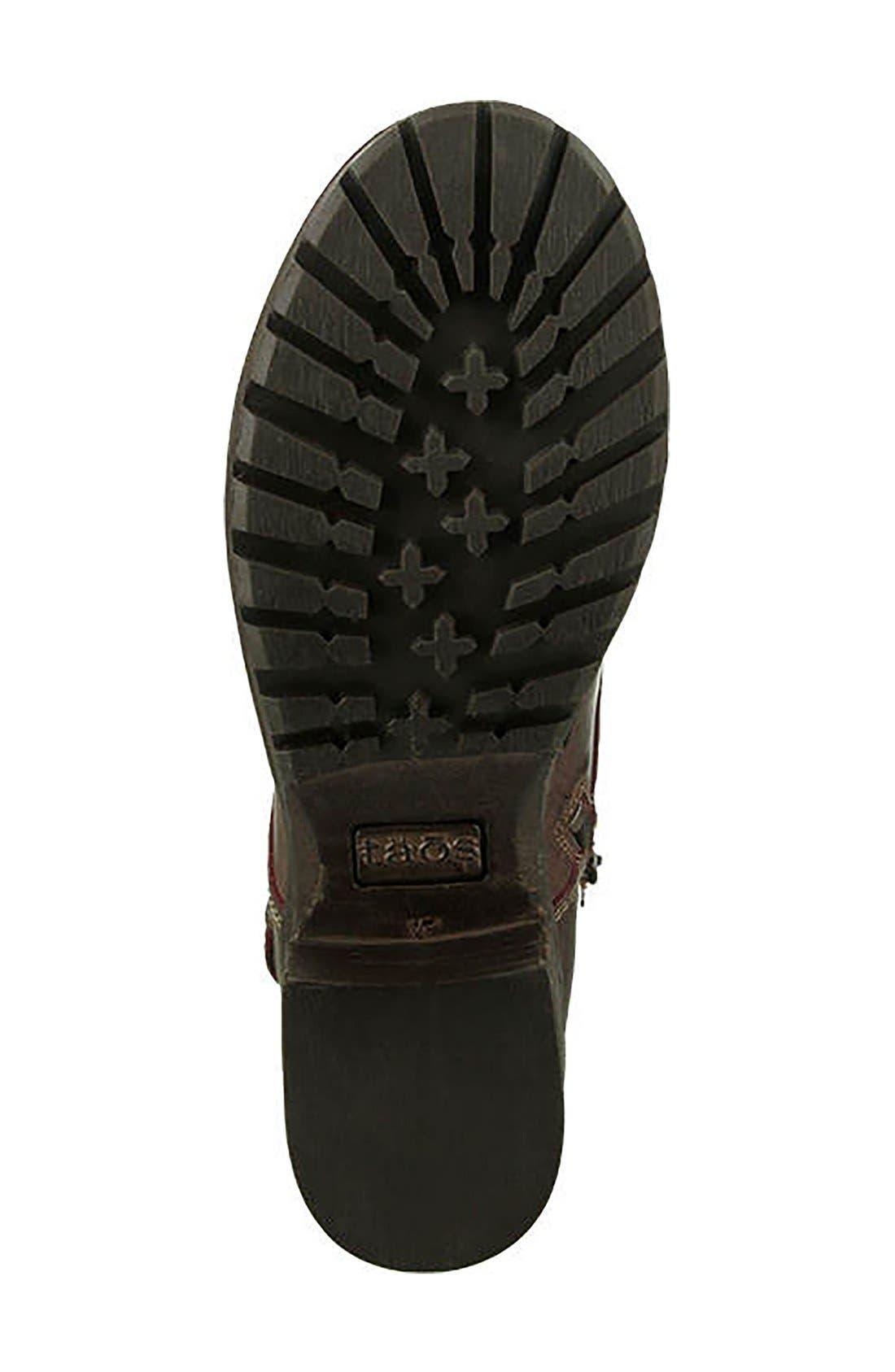 Crave Boot,                             Alternate thumbnail 5, color,                             Bordeaux Leather
