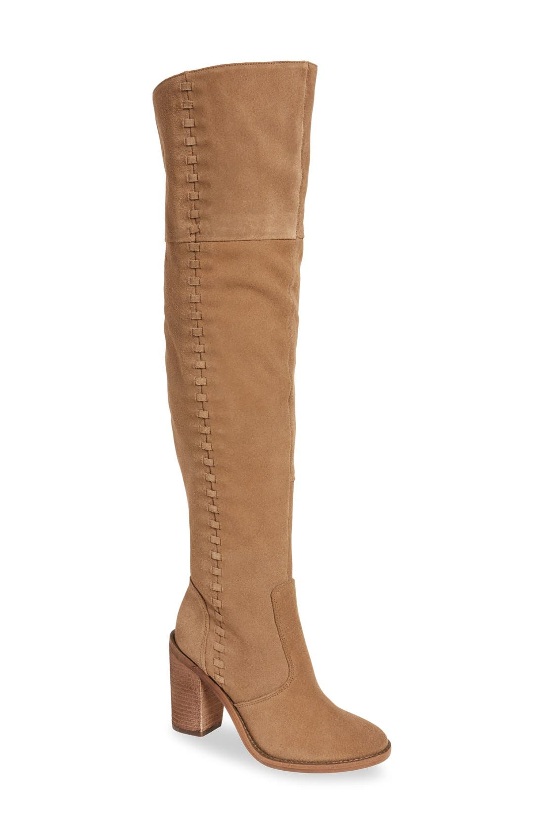 Alternate Image 1 Selected - Vince Camuto 'Morra' Over the Knee Boot (Women)