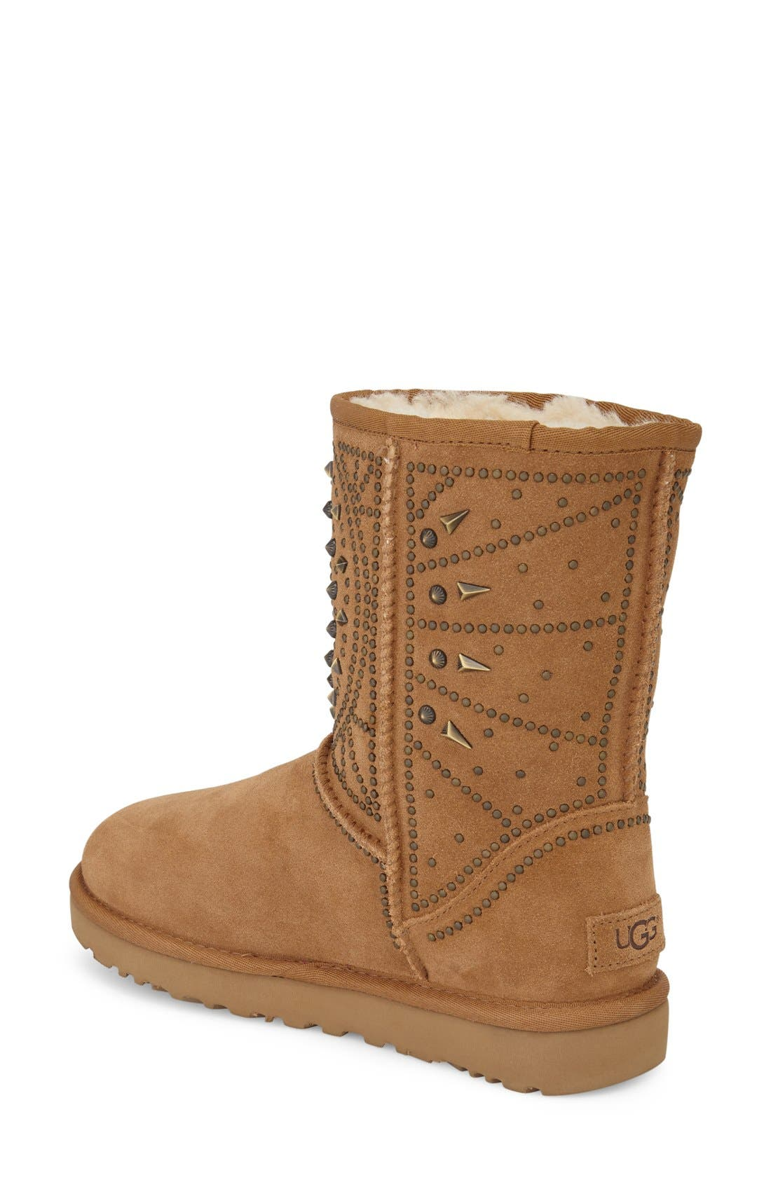 Alternate Image 2  - UGG® Fiore Deco Studs Boot (Women)