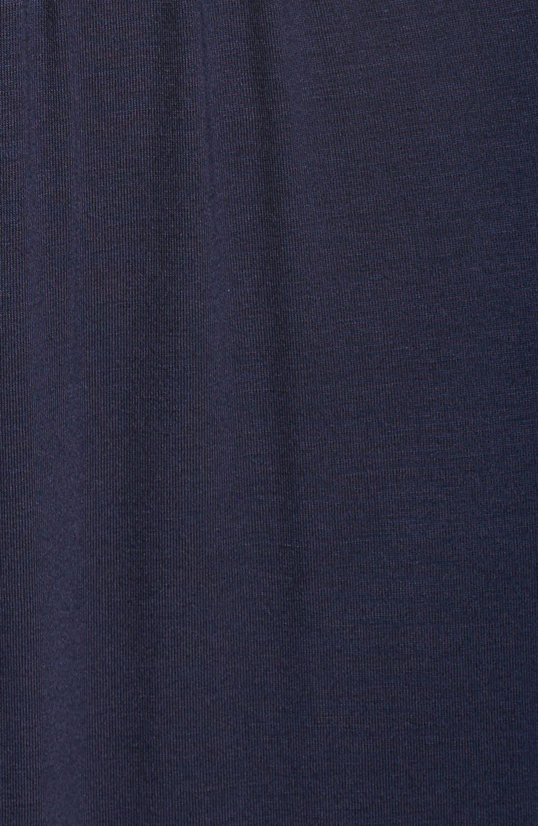 Alternate Image 5  - Fraiche by J V-Neck Jersey Dress