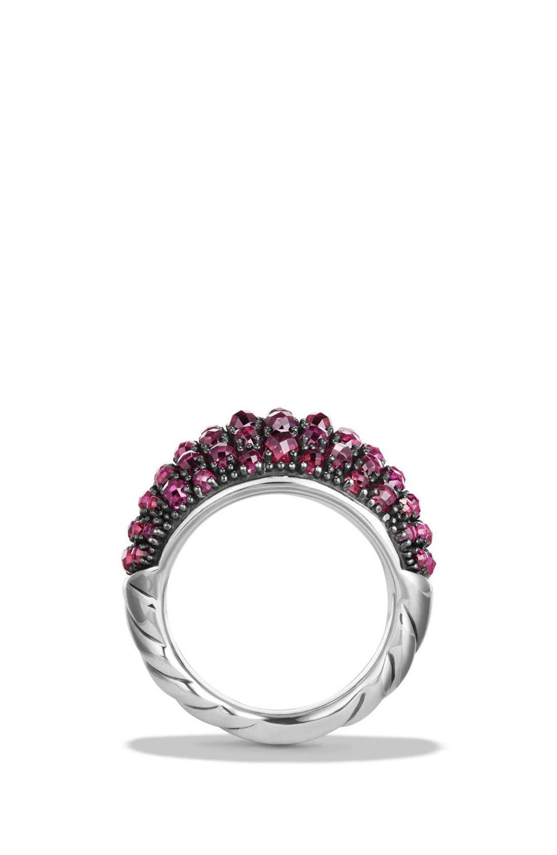 Osetra Dome Ring,                             Alternate thumbnail 2, color,                             Rhodalite
