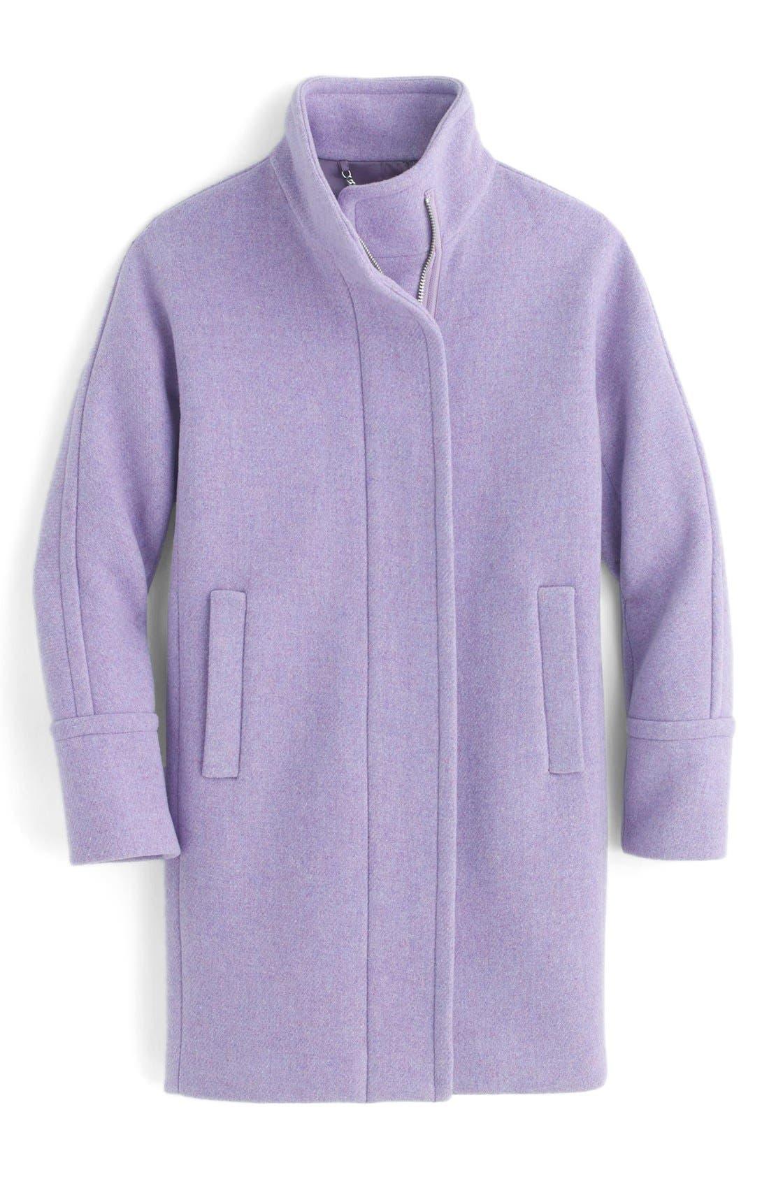 Alternate Image 3  - J.Crew Stadium Cloth Cocoon Coat (Regular & Petite)