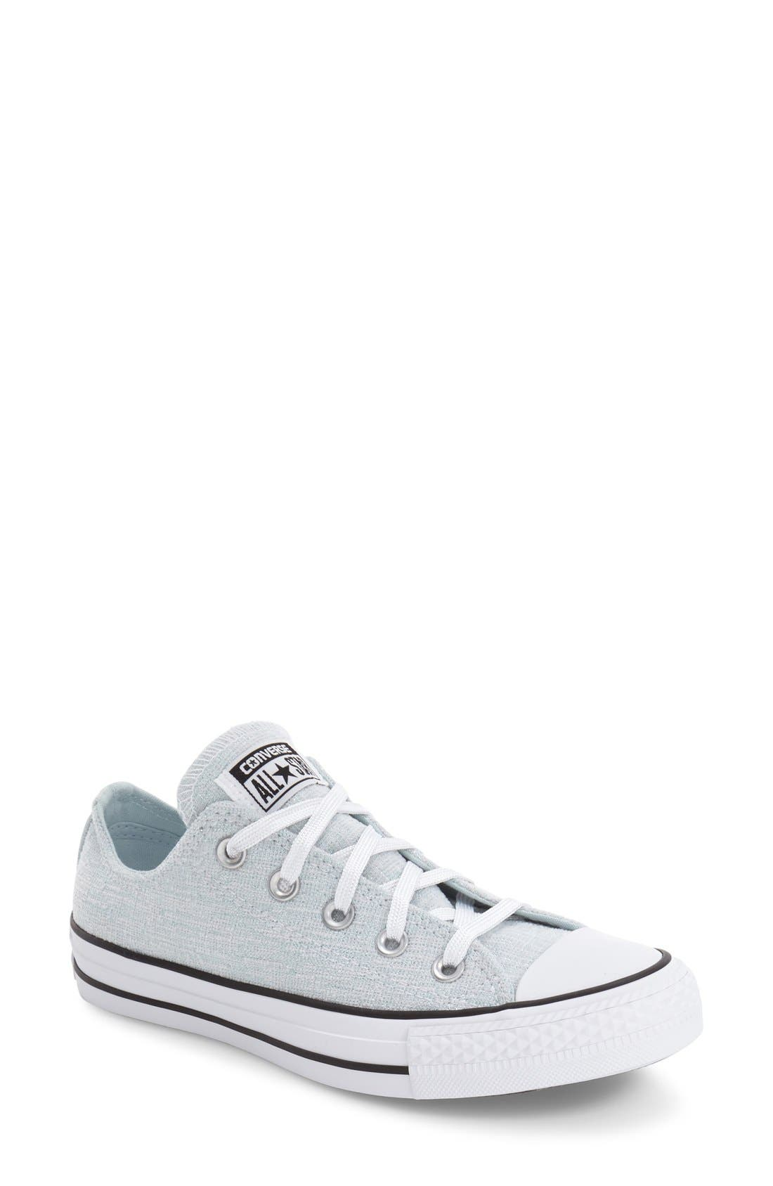 Alternate Image 1 Selected - Converse Chuck Taylor® All Star® Chuck Ox Knit Low Top Sneaker (Women)