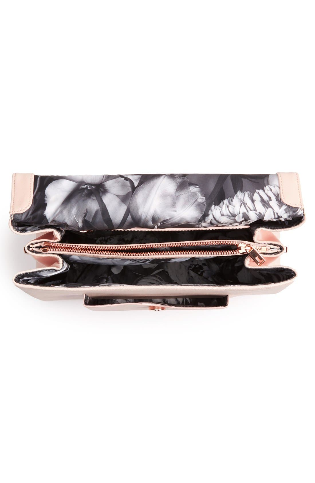 Alternate Image 3  - Ted Baker London Faux Leather Satchel (Nordstrom Exclusive)