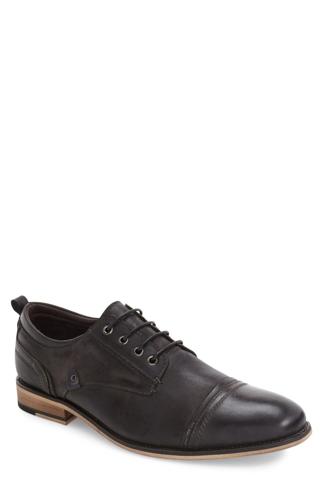 Alternate Image 1 Selected - Steve Madden Jamyson Cap Toe Derby (Men)