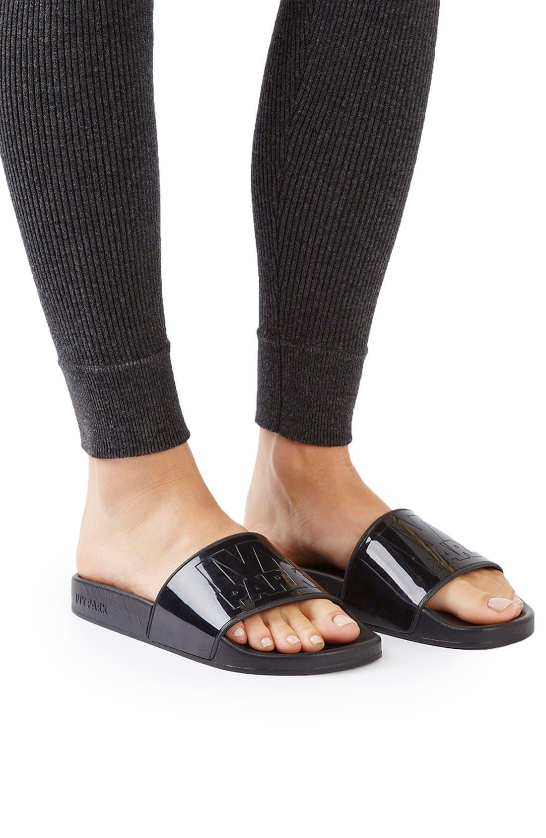 Alternate Image 5  - IVY PARK® Logo Slide Sandal (Women)
