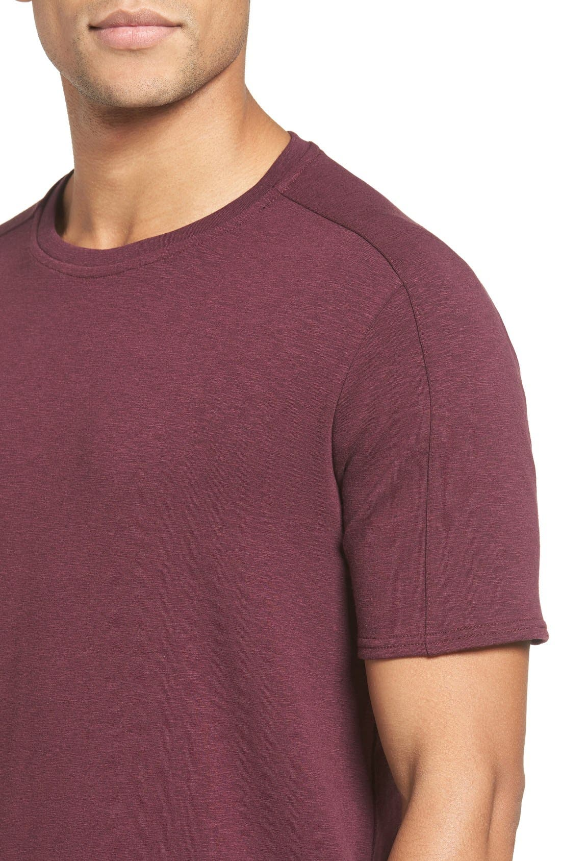 Alternate Image 4  - W.R.K Douglas Cotton Blend T-Shirt