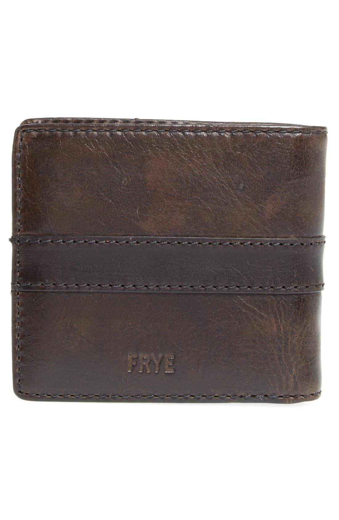 Alternate Image 3  - Frye 'Oliver' Leather Billfold Wallet