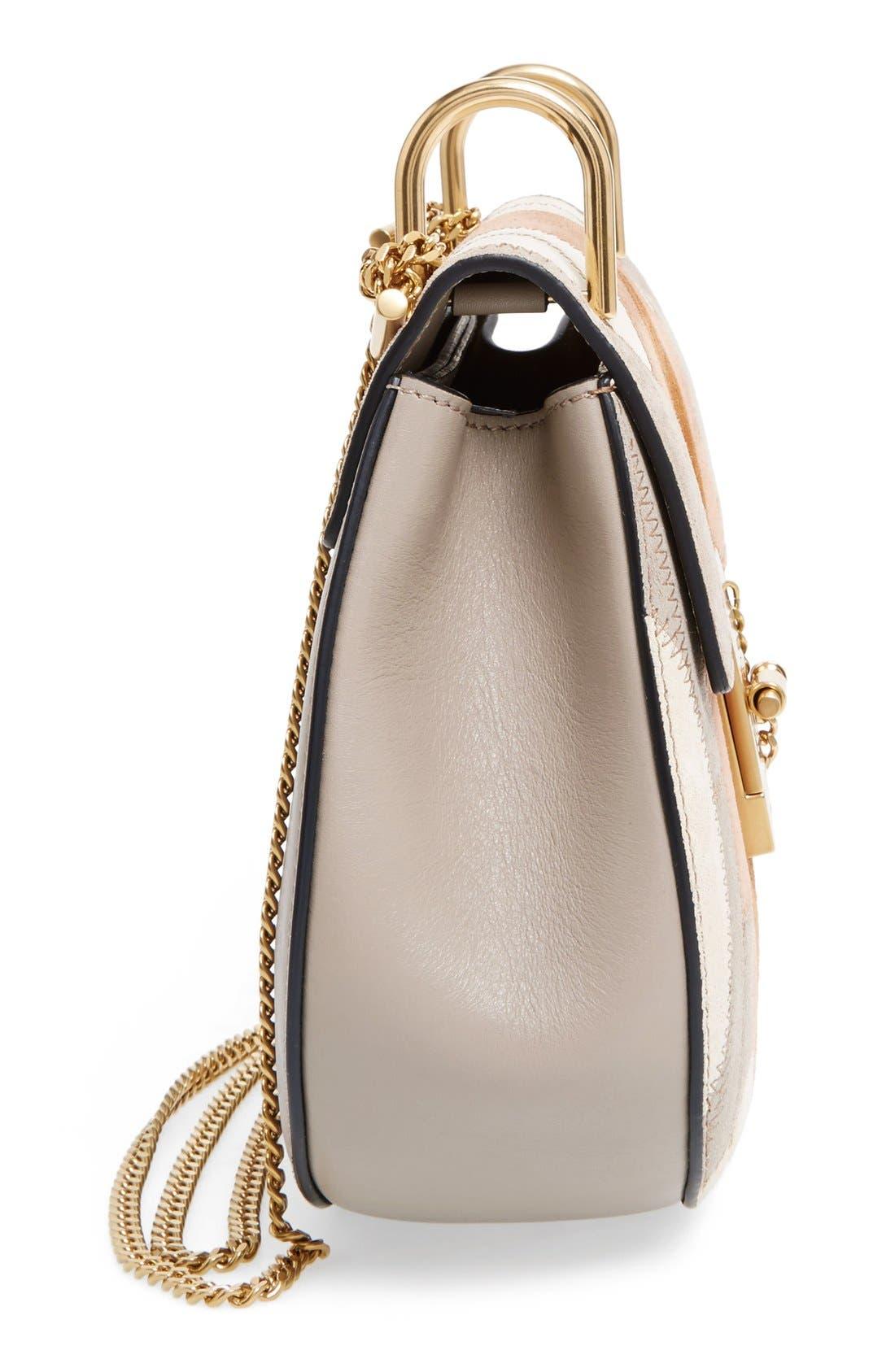 Alternate Image 5  - Chloé 'Small Drew' Patchwork Suede Shoulder Bag