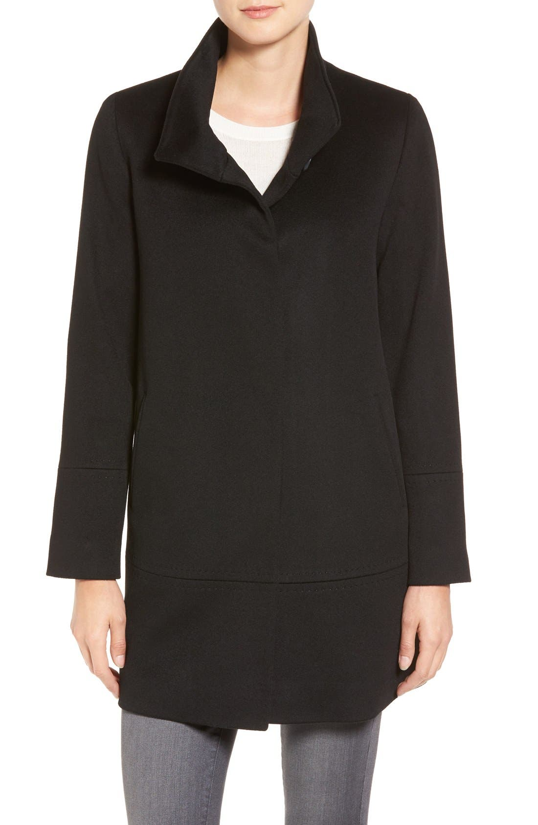 Fleurette Loro Piana Wool Car Coat (Regular & Petite) (Nordstrom Exclusive)
