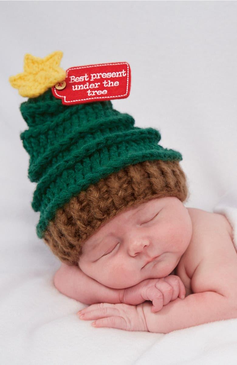 Mud Pie Christmas Tree Hat (Baby) | Nordstrom
