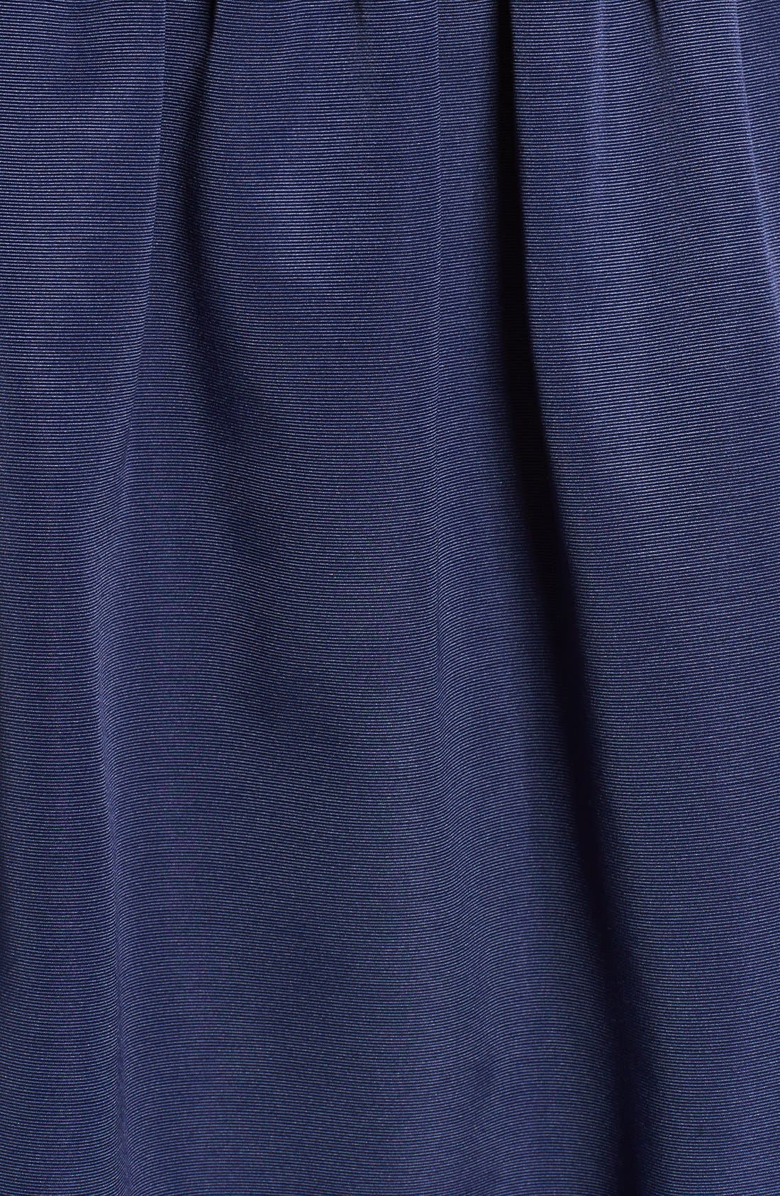 Alternate Image 6  - Eliza J Lace & Faille Dress (Plus Size)