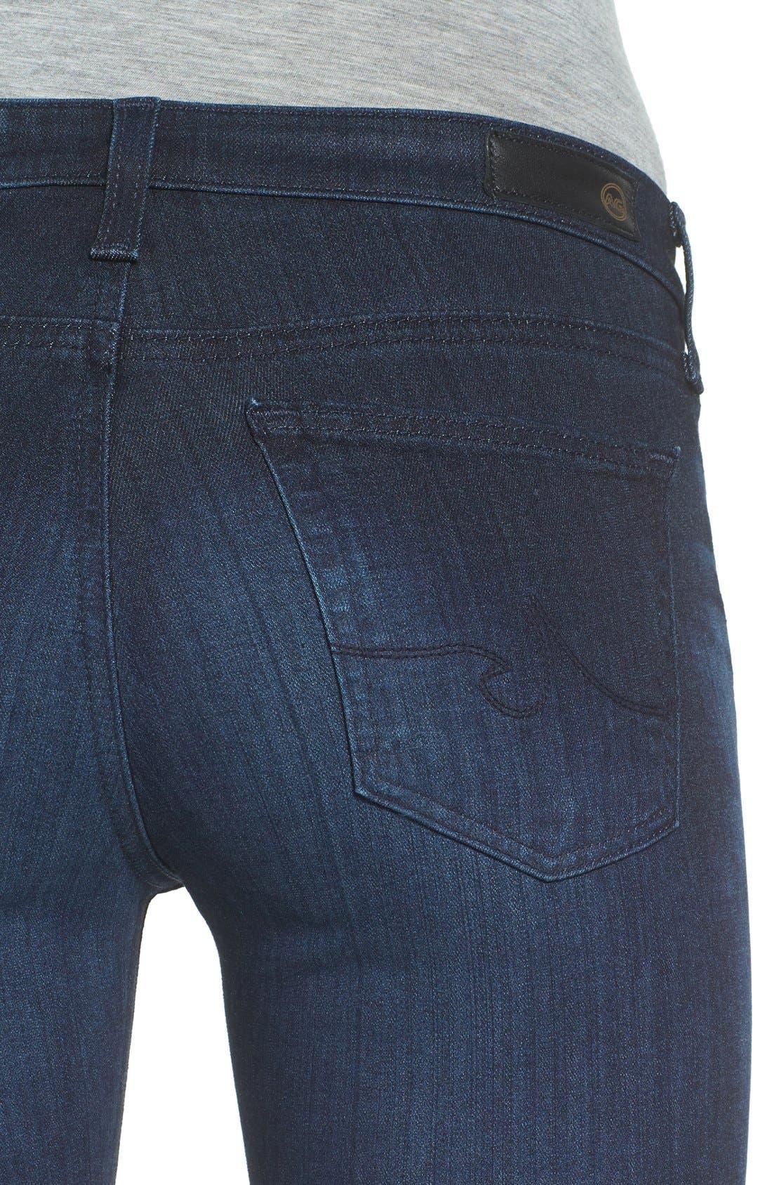 Alternate Image 4  - AG 'The Stilt' Cigarette Skinny Jeans (3 Year Imagination)