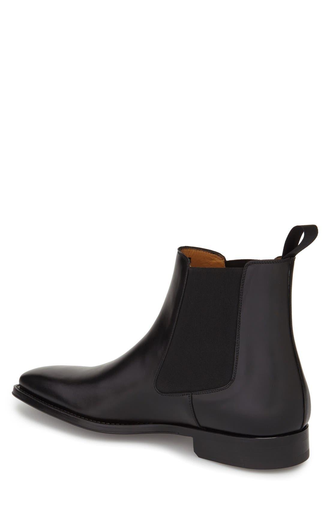 'Sean' Chelsea Boot,                             Alternate thumbnail 2, color,                             Black