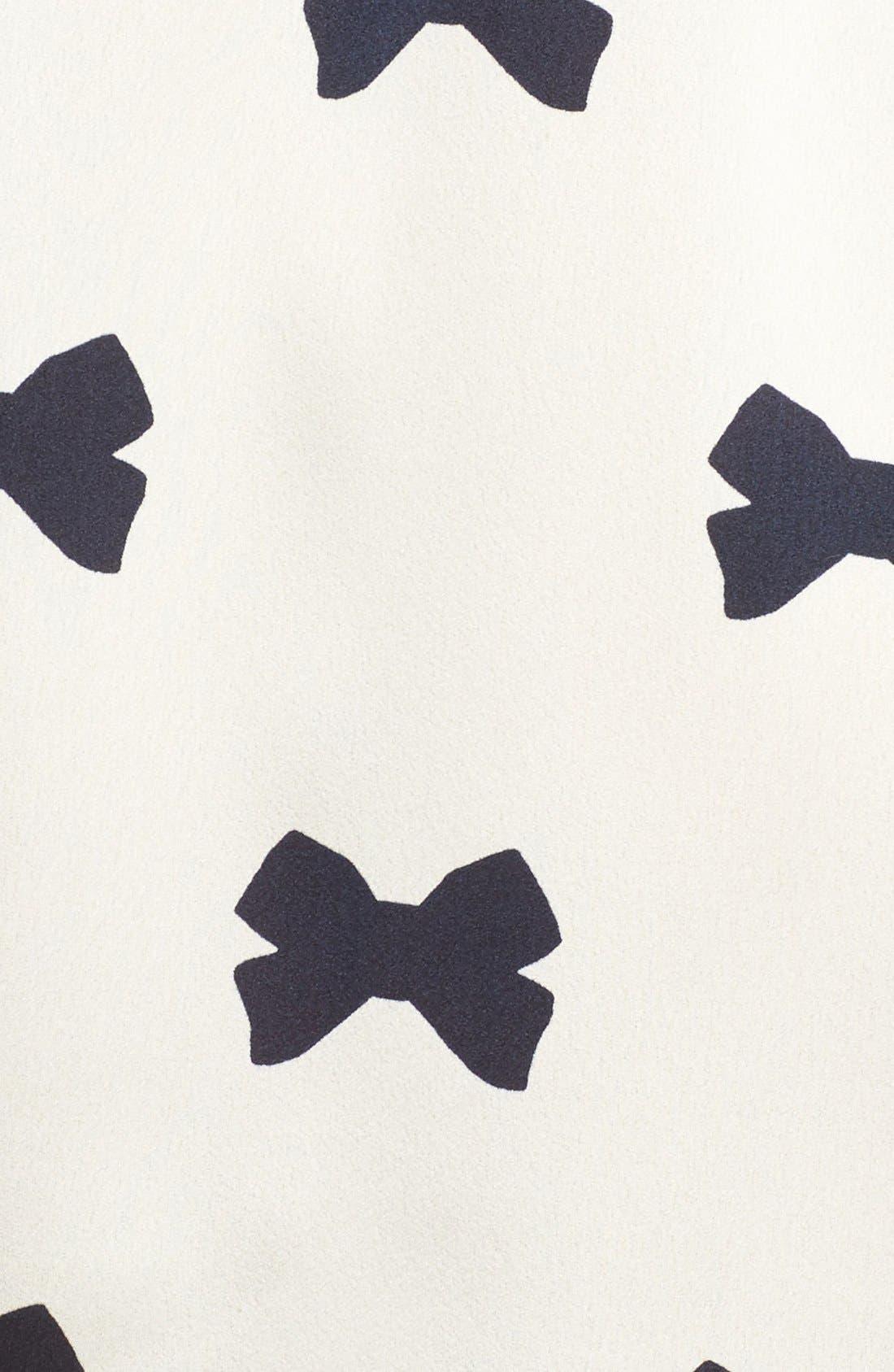 Alternate Image 5  - kate spade new york bow print robe