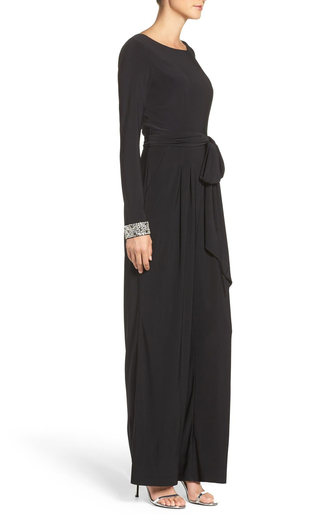 Alternate Image 3  - Vince Camuto Embellished Wide Leg Jumpsuit