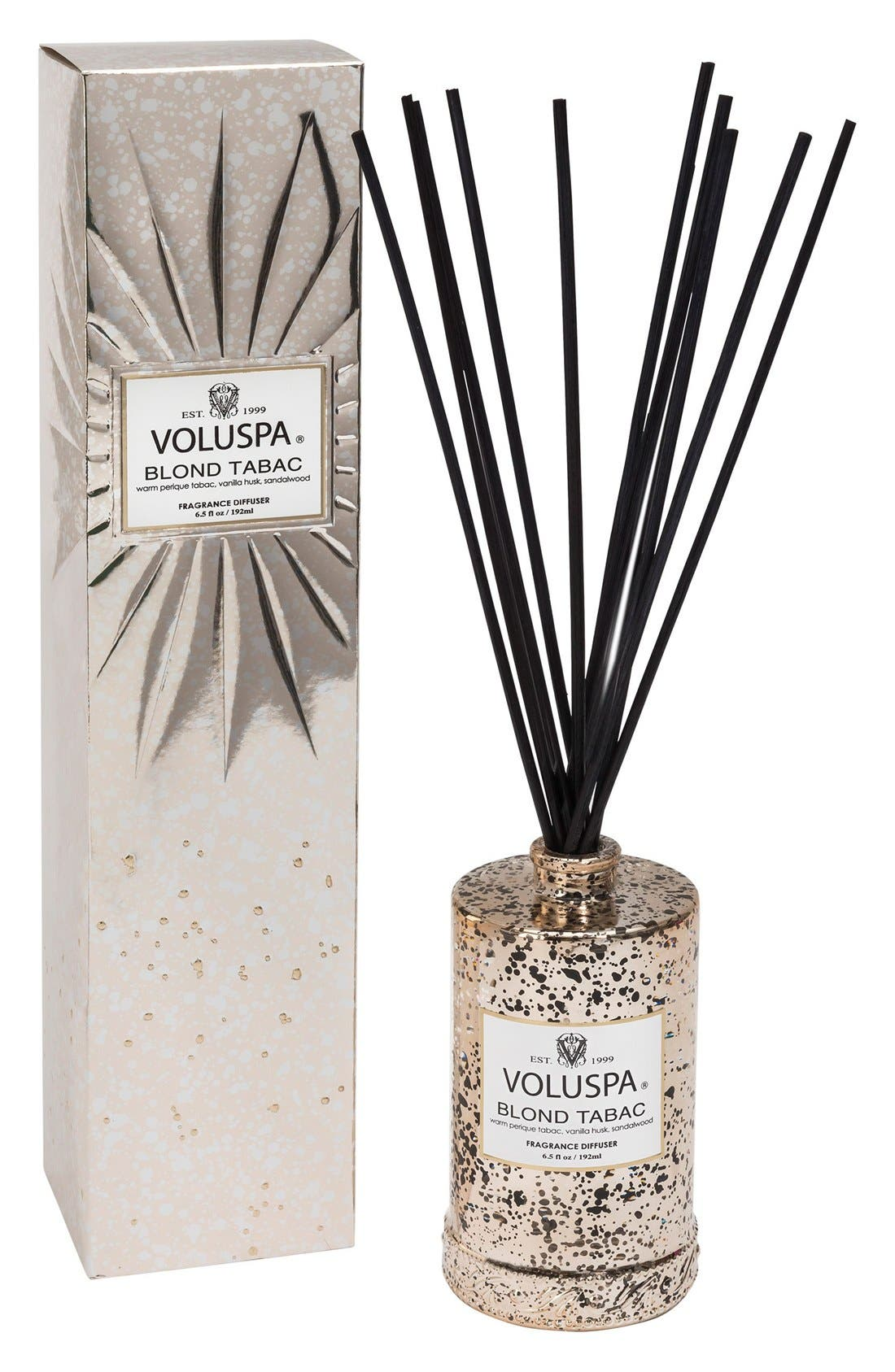 Alternate Image 1 Selected - Voluspa Vermeil Blond Tabac Home Ambience Diffuser