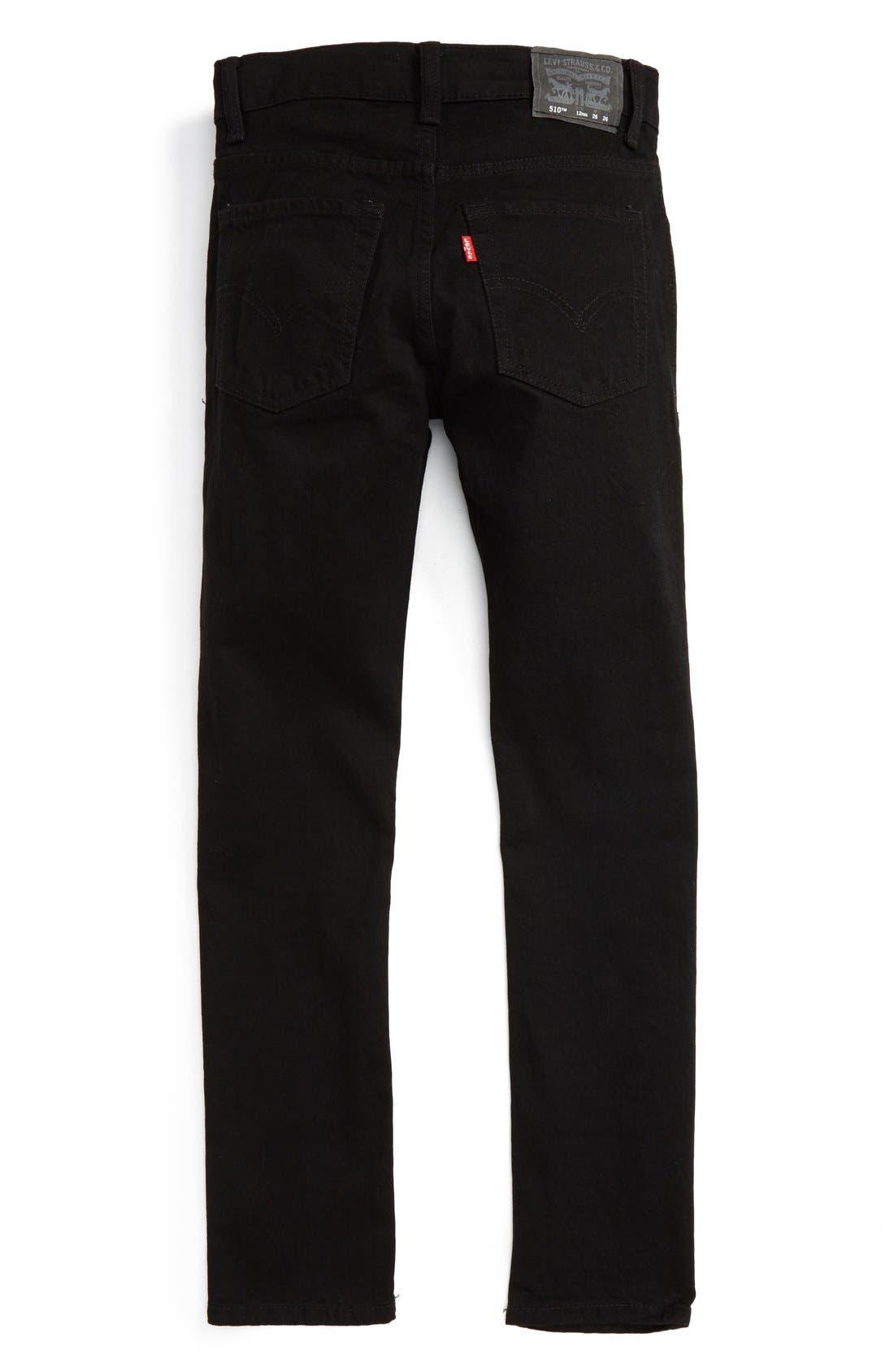 Alternate Image 2  - Levi's® 510™ Skinny Fit Jeans (Toddler Boys, Little Boys & Big Boys)