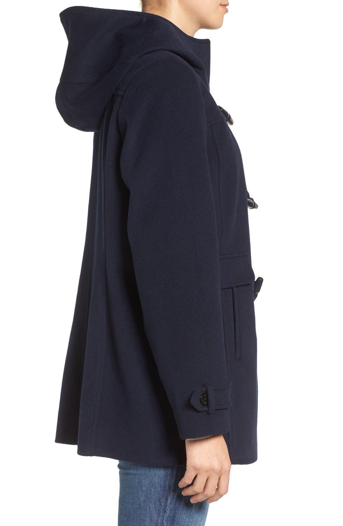 Alternate Image 3  - Pendleton Roslyn Waterproof Lambswool Blend Hooded Coat