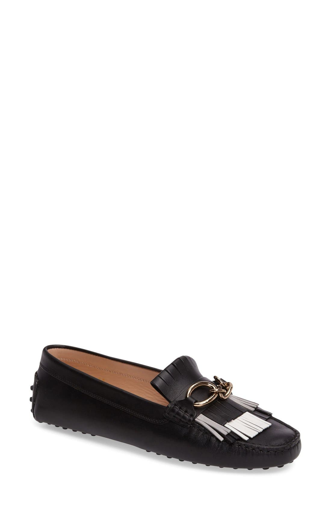 Alternate Image 1 Selected - Tod's Gommini Driving Moccasin (Women)