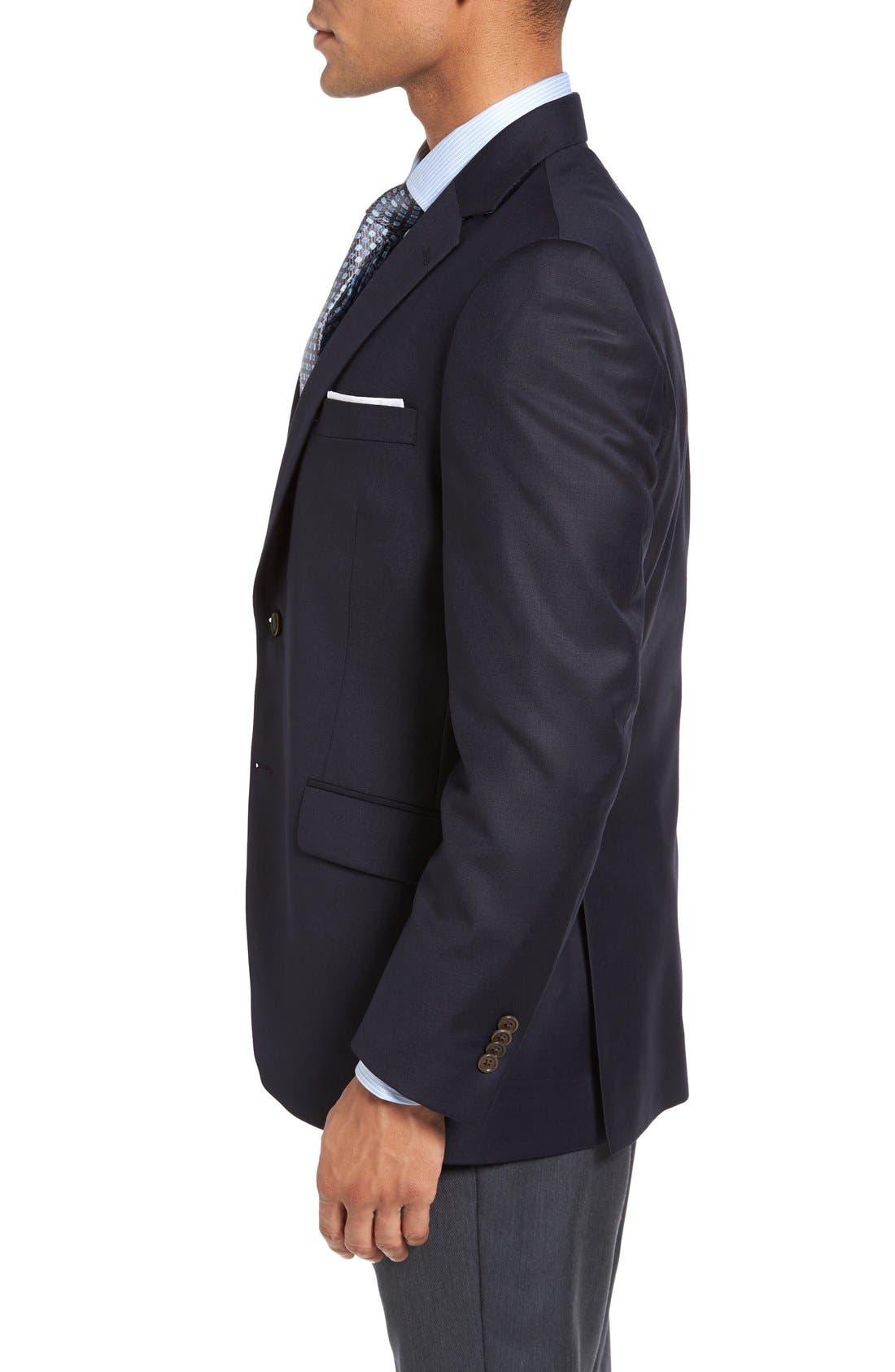 Alternate Image 3  - Peter Millar 'Flynn' Classic Fit Navy Wool Blazer