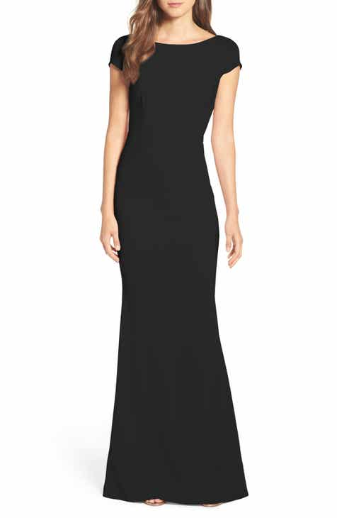 c45f3c5afef Katie May Intrigue Plunge Knot Back Gown