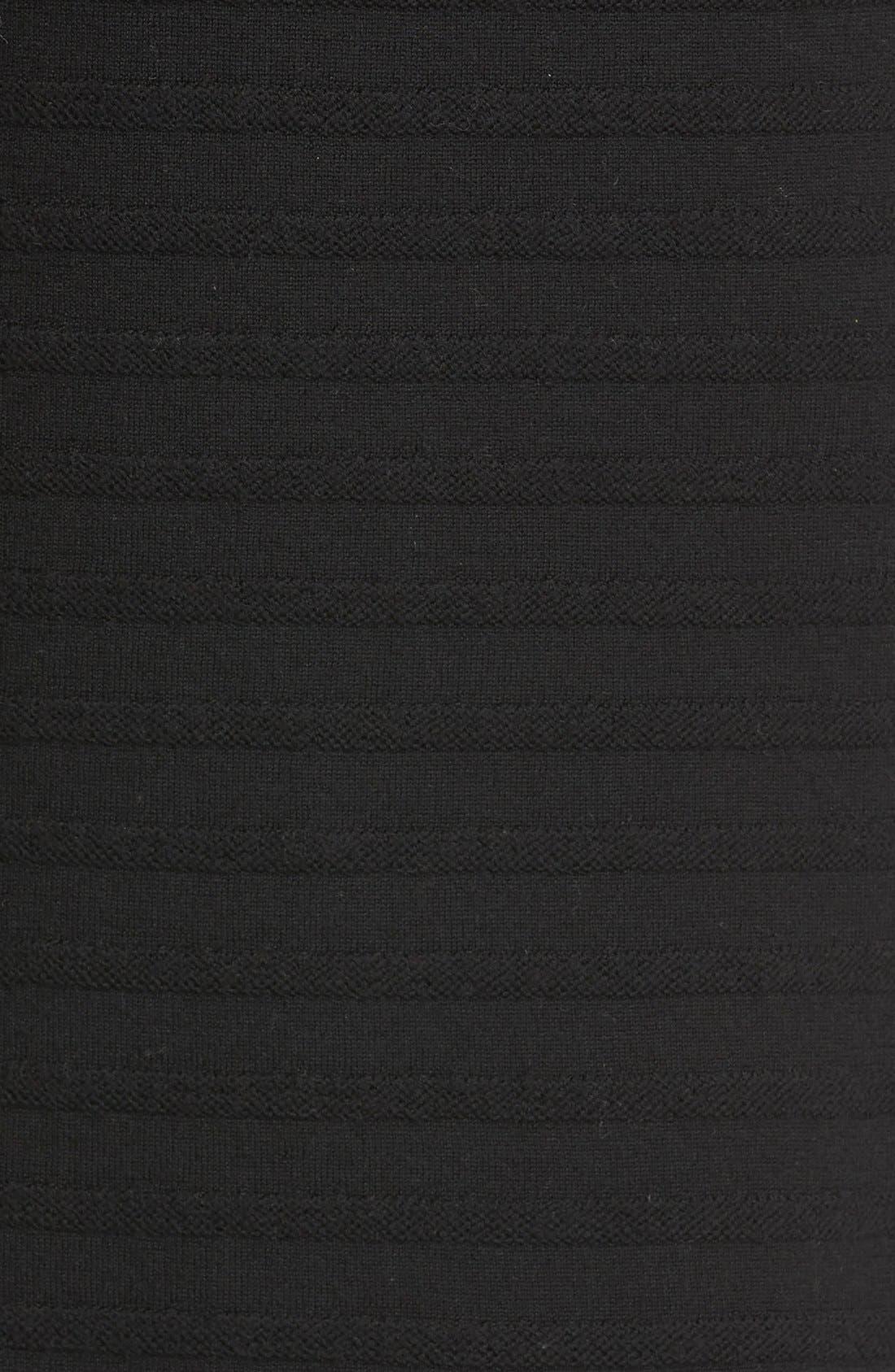 Alternate Image 5  - Tory Burch Giselle Textured Merino Wool Sweater Dress