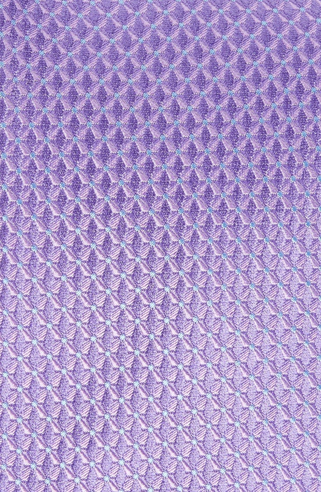'Grayson Mini' Silk Tie,                             Alternate thumbnail 2, color,                             Lilac