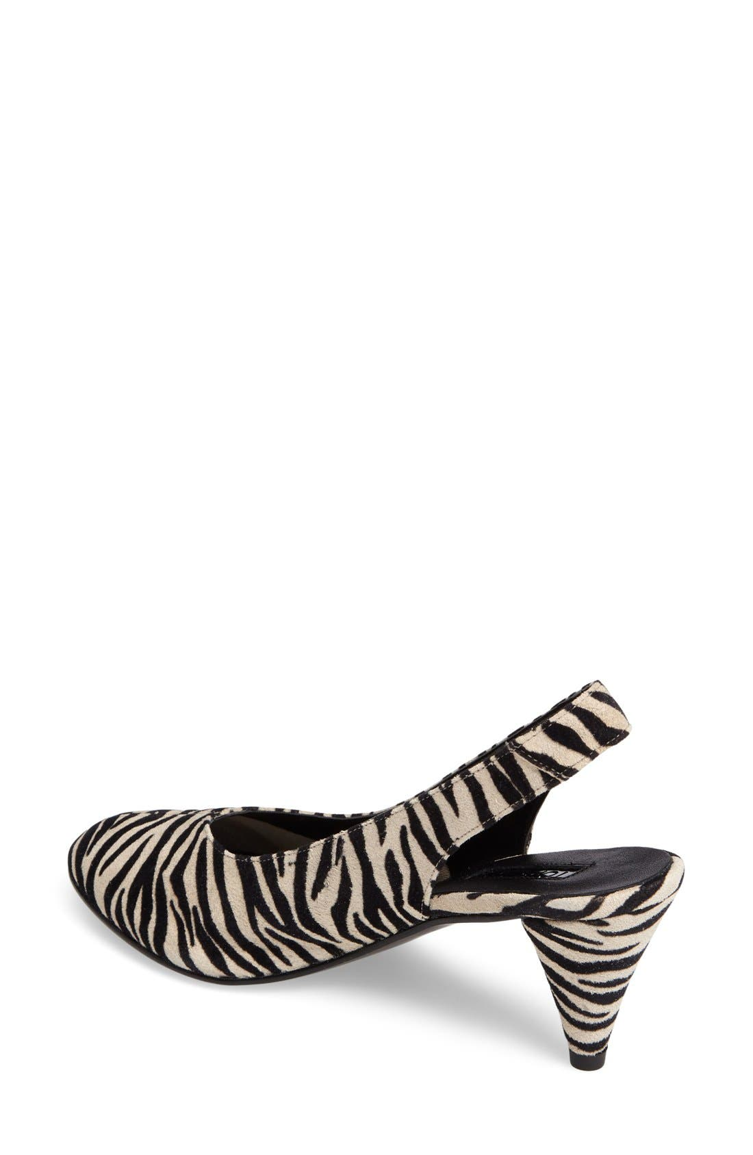 Alternate Image 2  - Topshop 'Jazz' Slingback Pump (Women)