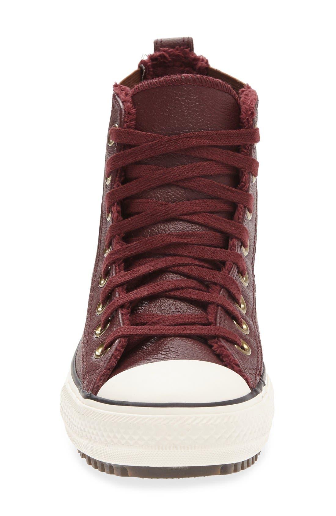 Alternate Image 3  - Converse Chuck Taylor® All Star® Faux Fur Chelsea Sneaker (Women)