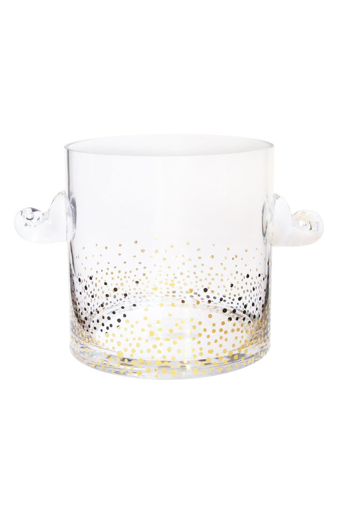 Luster Ice Bucket,                             Main thumbnail 1, color,                             Gold