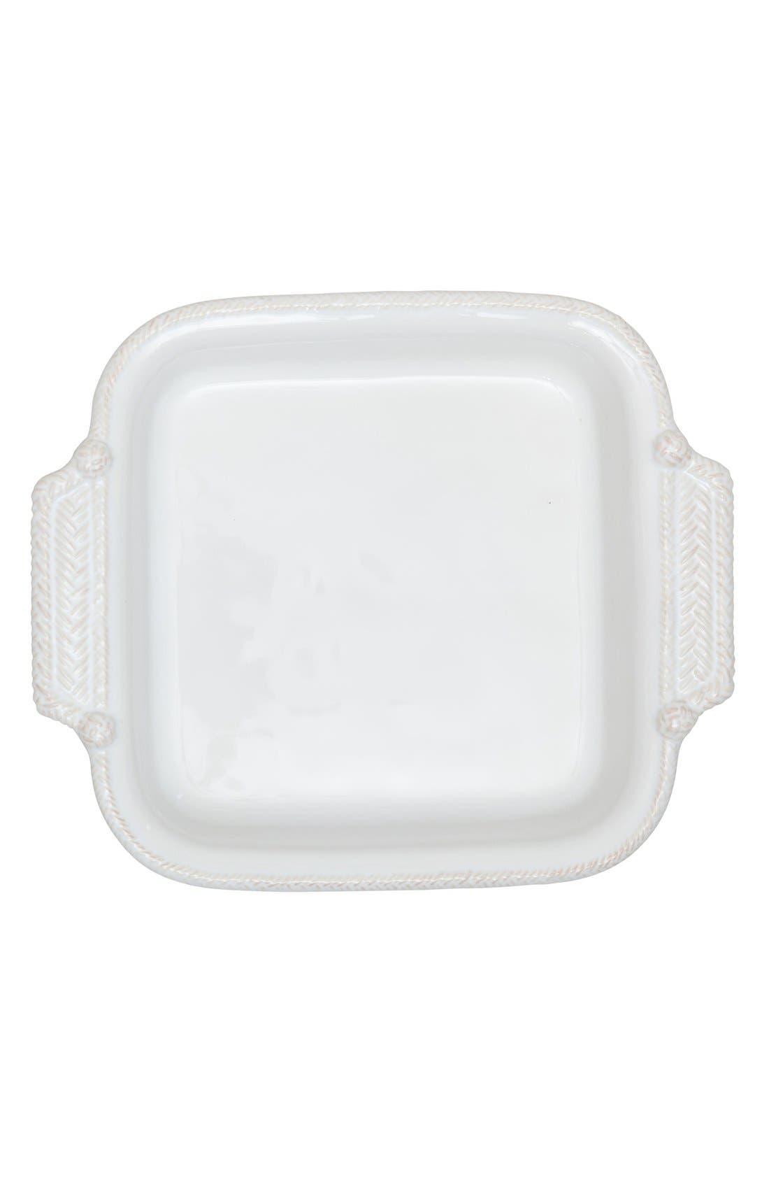 Le Panier 2-Quart Square Baking Dish,                         Main,                         color, White