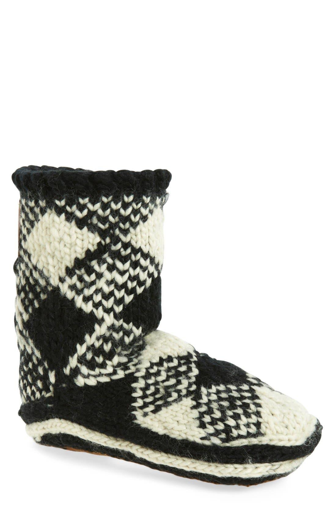 WOOLRICH Chalet Slipper Socks
