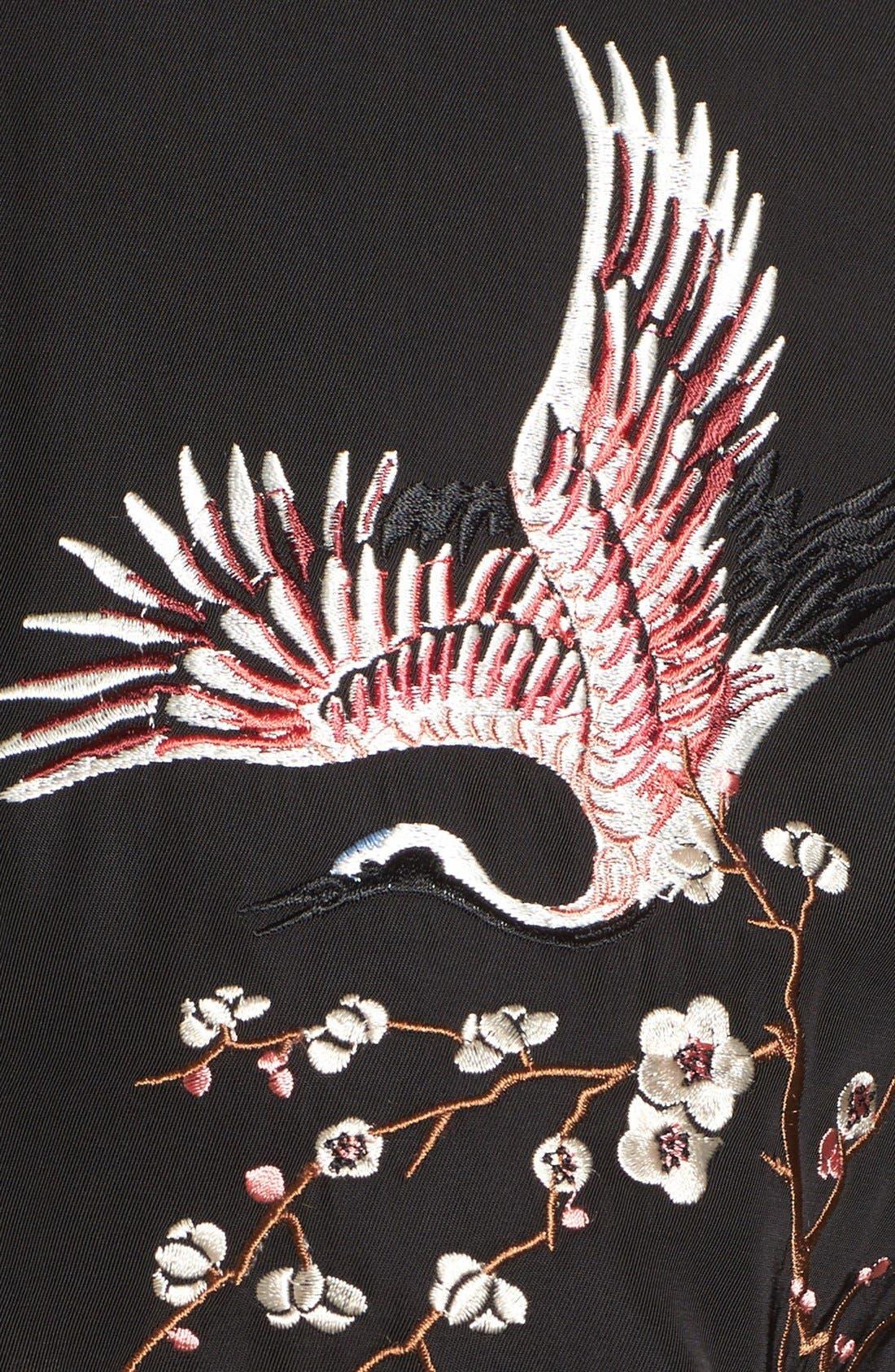 Alternate Image 5  - Trouvé Embroidered Bomber Jacket